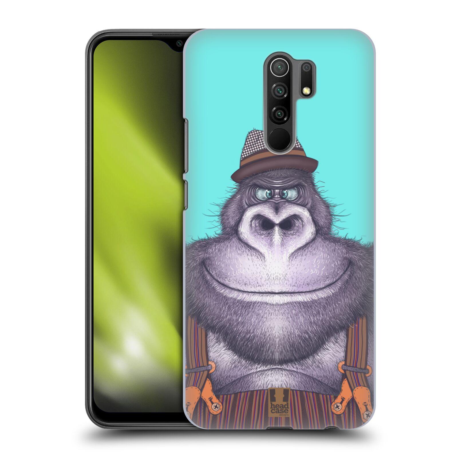 Plastové pouzdro na mobil Xiaomi Redmi 9 - Head Case - ANIMPLA GORILÁK