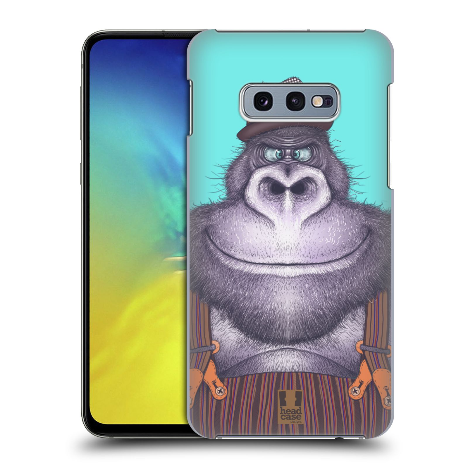 Plastové pouzdro na mobil Samsung Galaxy S10e - Head Case - ANIMPLA GORILÁK