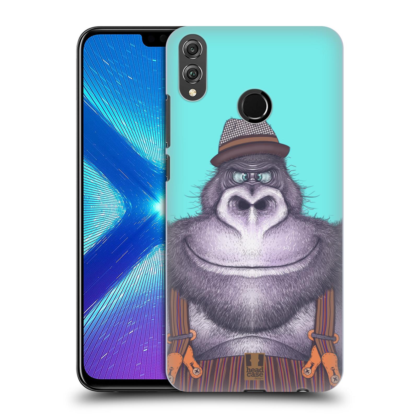 Plastové pouzdro na mobil Honor 8X - Head Case - ANIMPLA GORILÁK