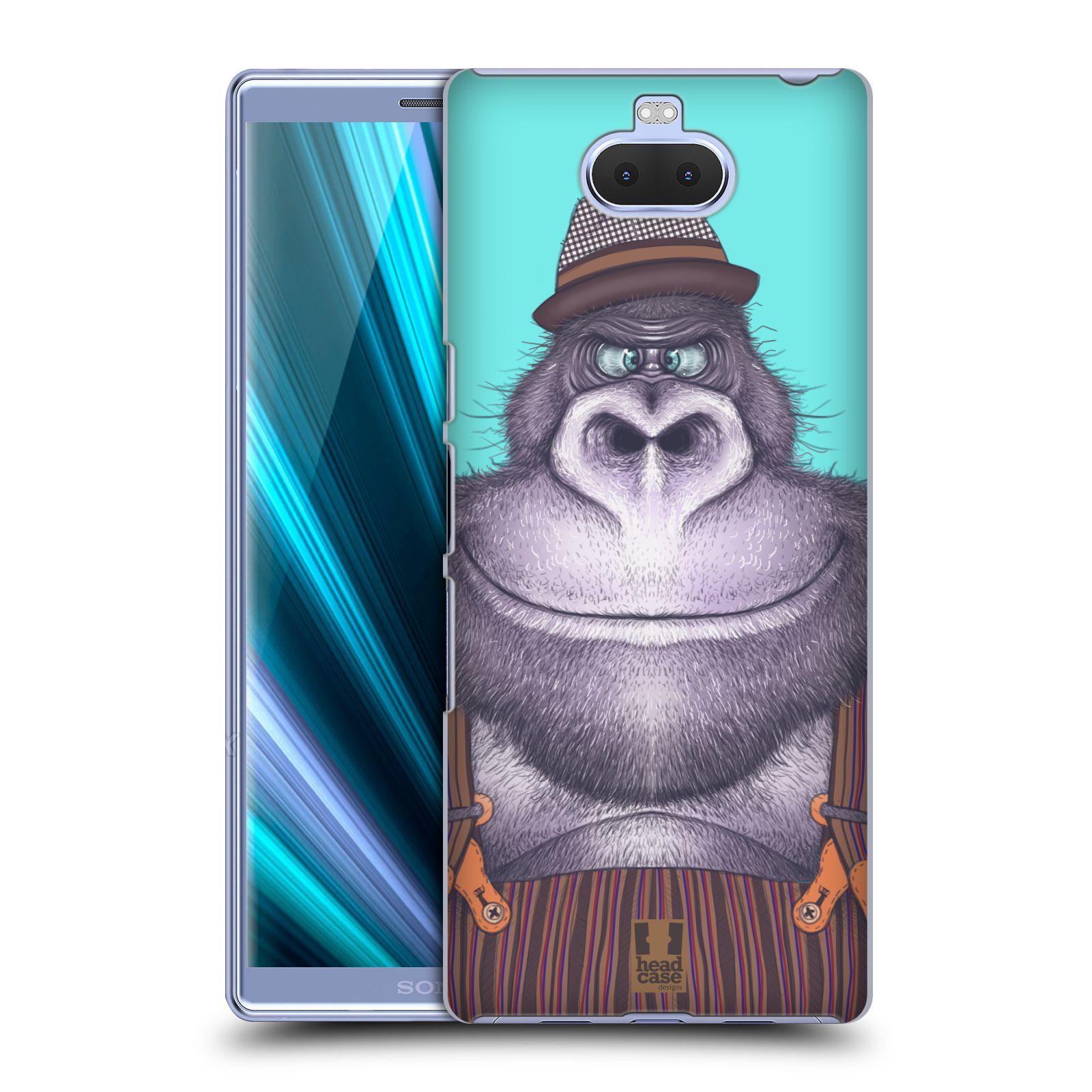 Plastové pouzdro na mobil Sony Xperia 10 - Head Case - ANIMPLA GORILÁK