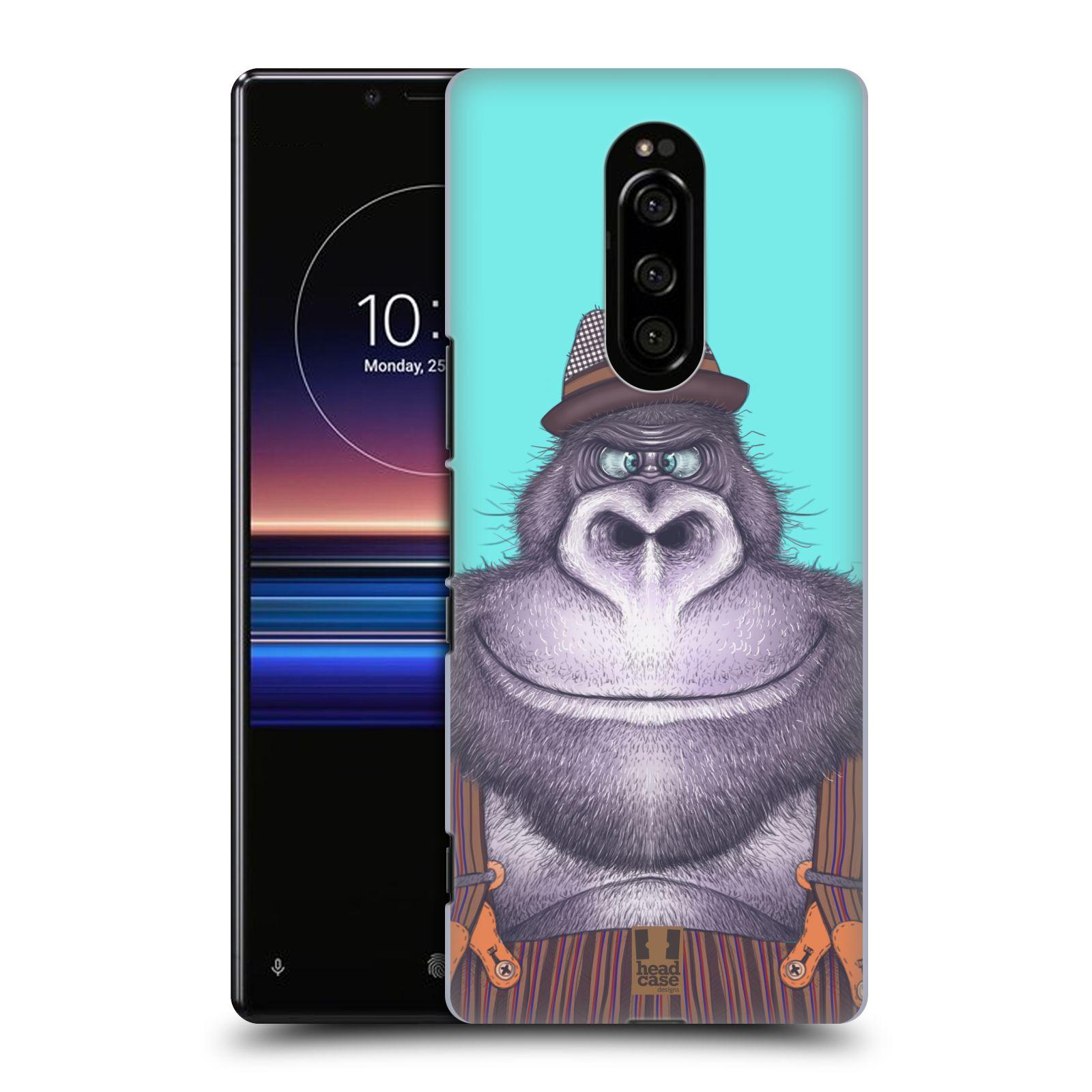 Plastové pouzdro na mobil Sony Xperia 1 - Head Case - ANIMPLA GORILÁK