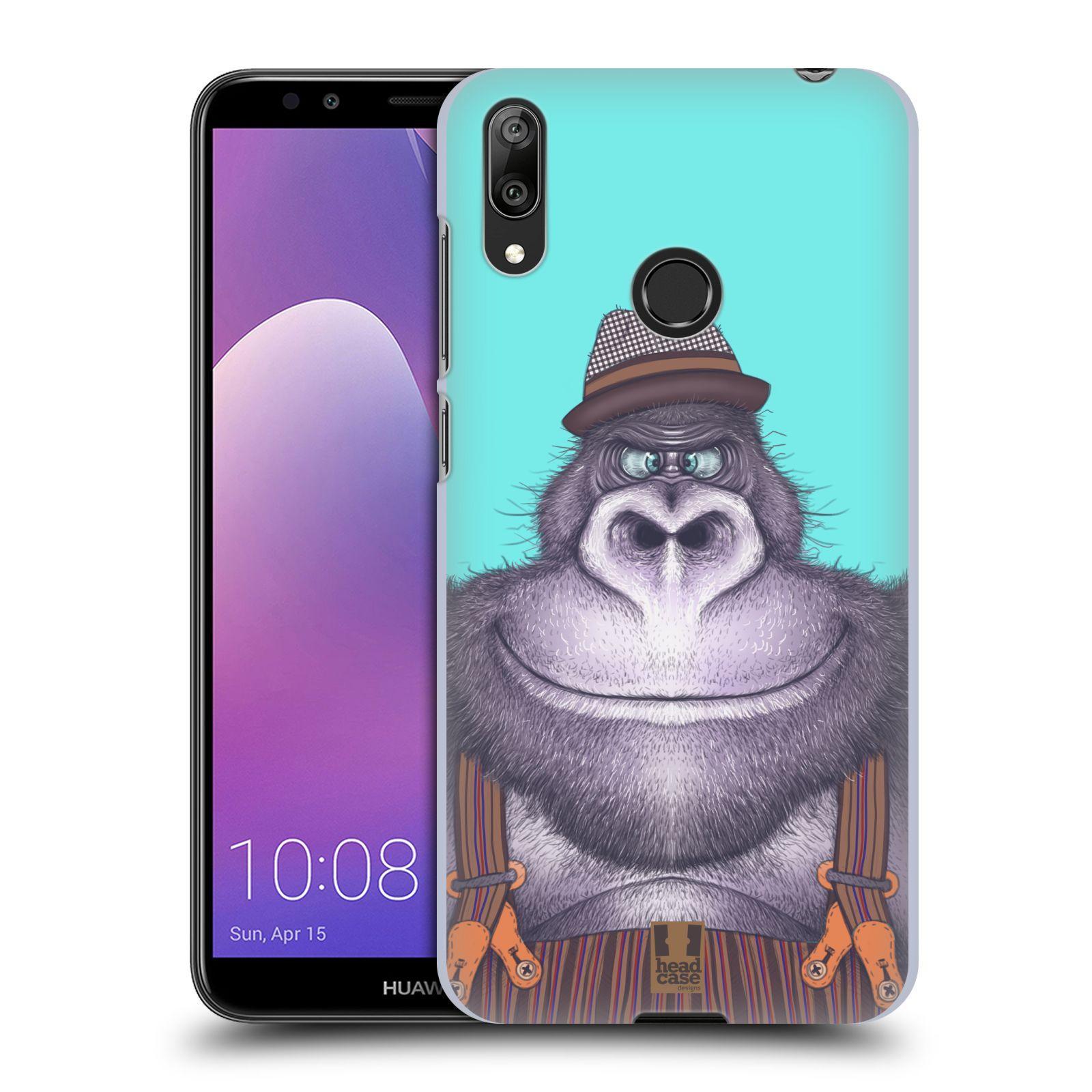 Plastové pouzdro na mobil Huawei Y7 (2019) - Head Case - ANIMPLA GORILÁK