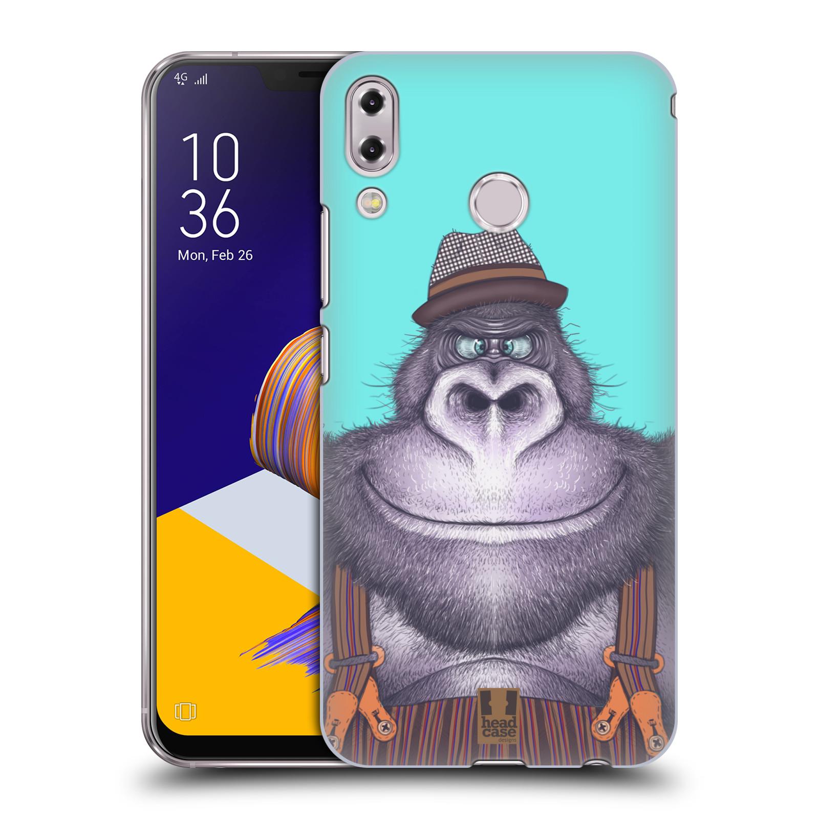 Plastové pouzdro na mobil Asus Zenfone 5z ZS620KL - Head Case - ANIMPLA GORILÁK