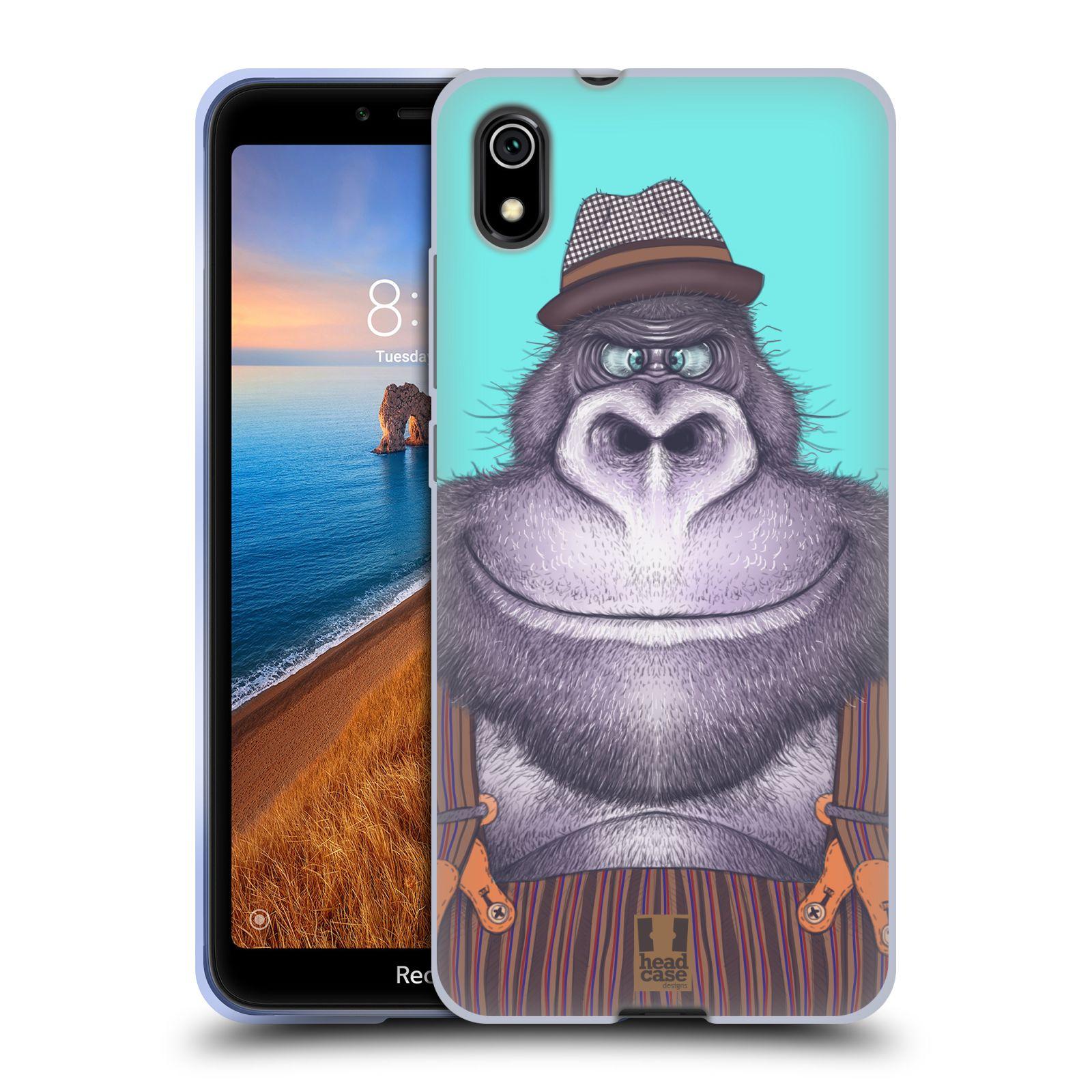 Silikonové pouzdro na mobil Redmi 7A - Head Case - ANIMPLA GORILÁK