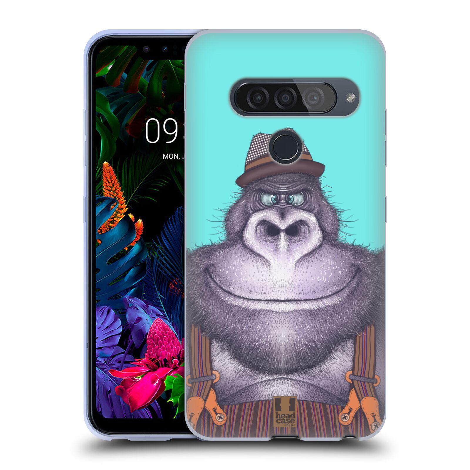 Silikonové pouzdro na mobil LG G8s ThinQ - Head Case - ANIMPLA GORILÁK