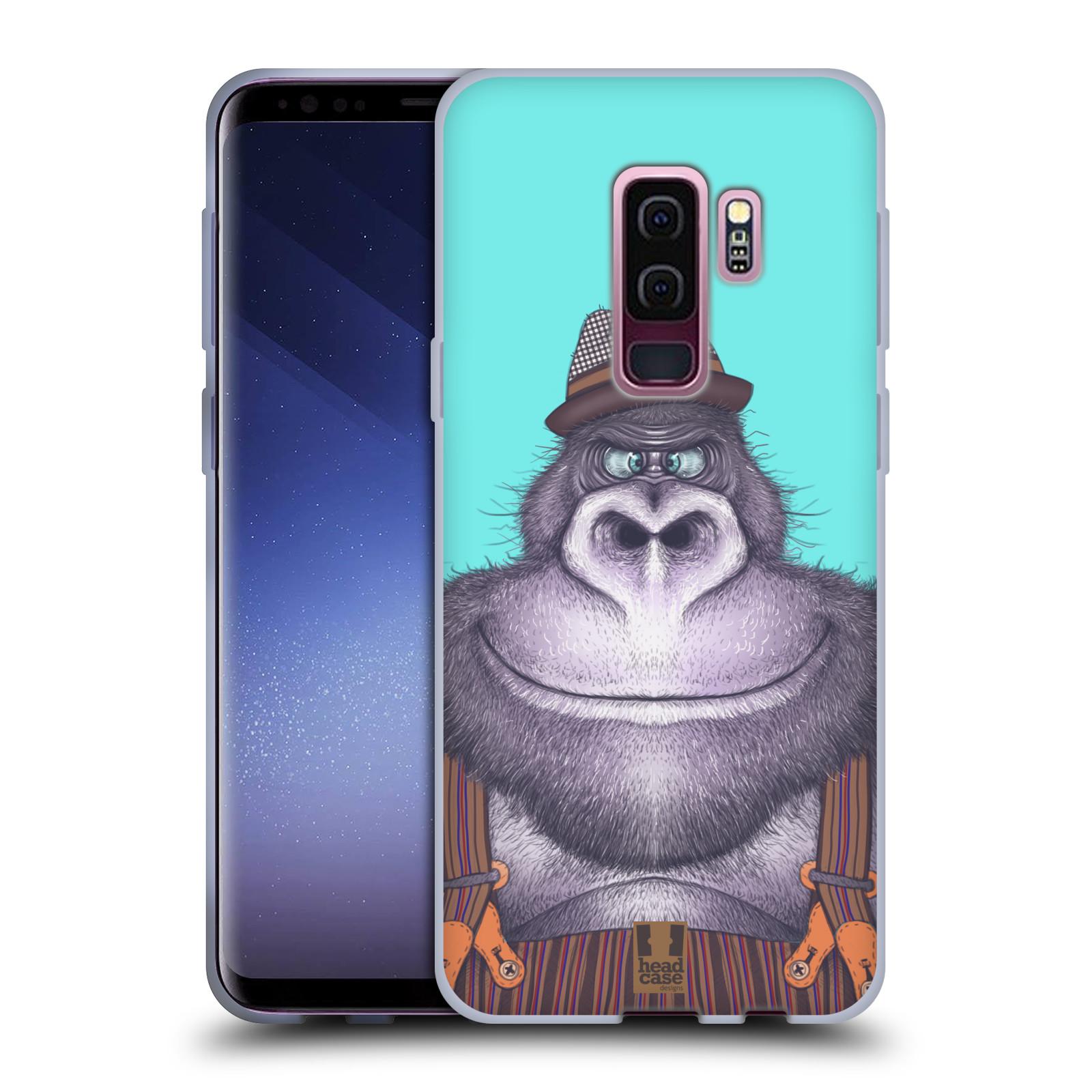 Silikonové pouzdro na mobil Samsung Galaxy S9 Plus - Head Case - ANIMPLA GORILÁK