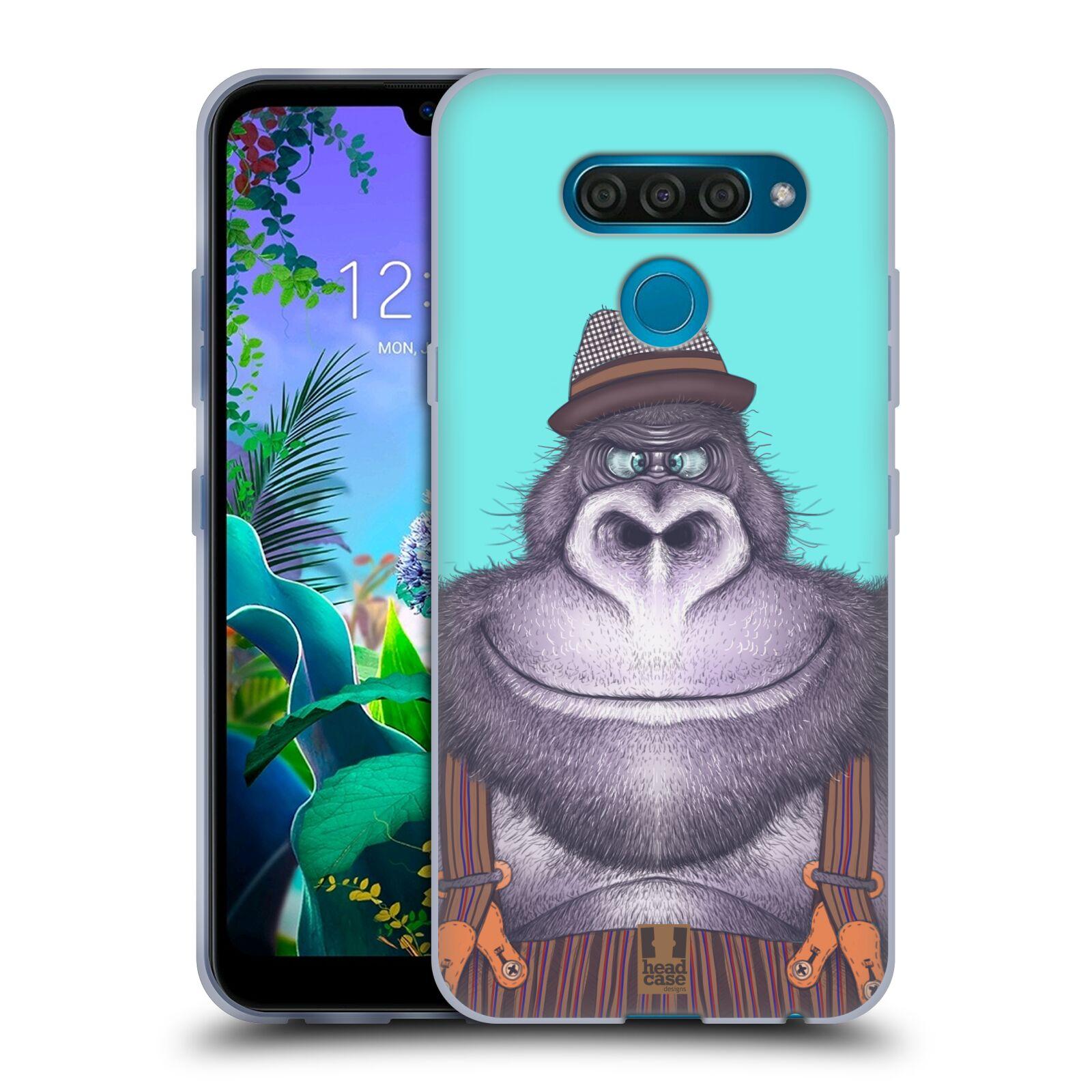 Silikonové pouzdro na mobil LG Q60 - Head Case - ANIMPLA GORILÁK