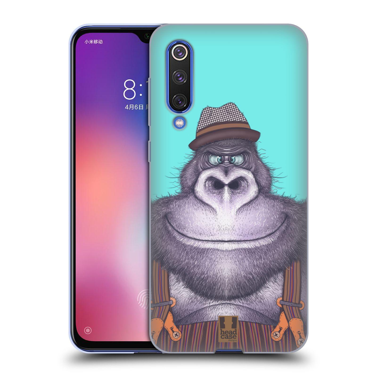 Silikonové pouzdro na mobil Xiaomi Mi 9 SE - Head Case - ANIMPLA GORILÁK