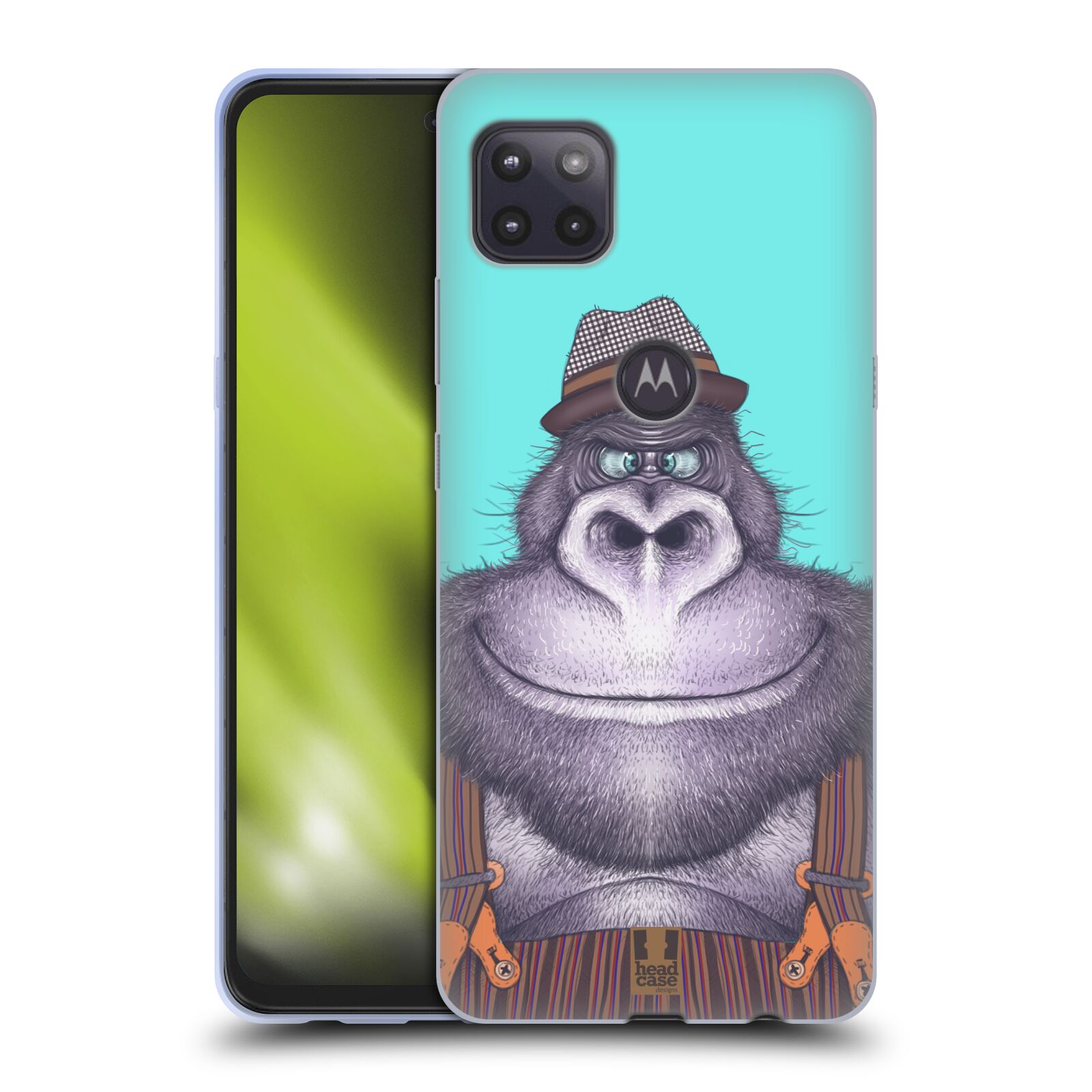 Silikonové pouzdro na mobil Motorola Moto G 5G - Head Case - ANIMPLA GORILÁK