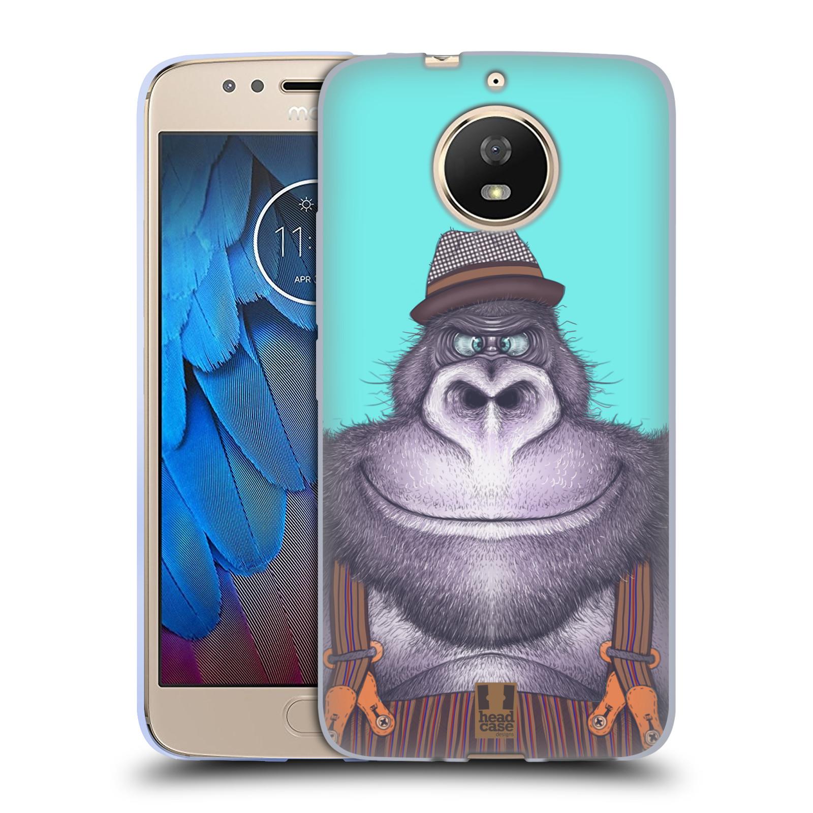 Silikonové pouzdro na mobil Lenovo Moto G5s - Head Case - ANIMPLA GORILÁK