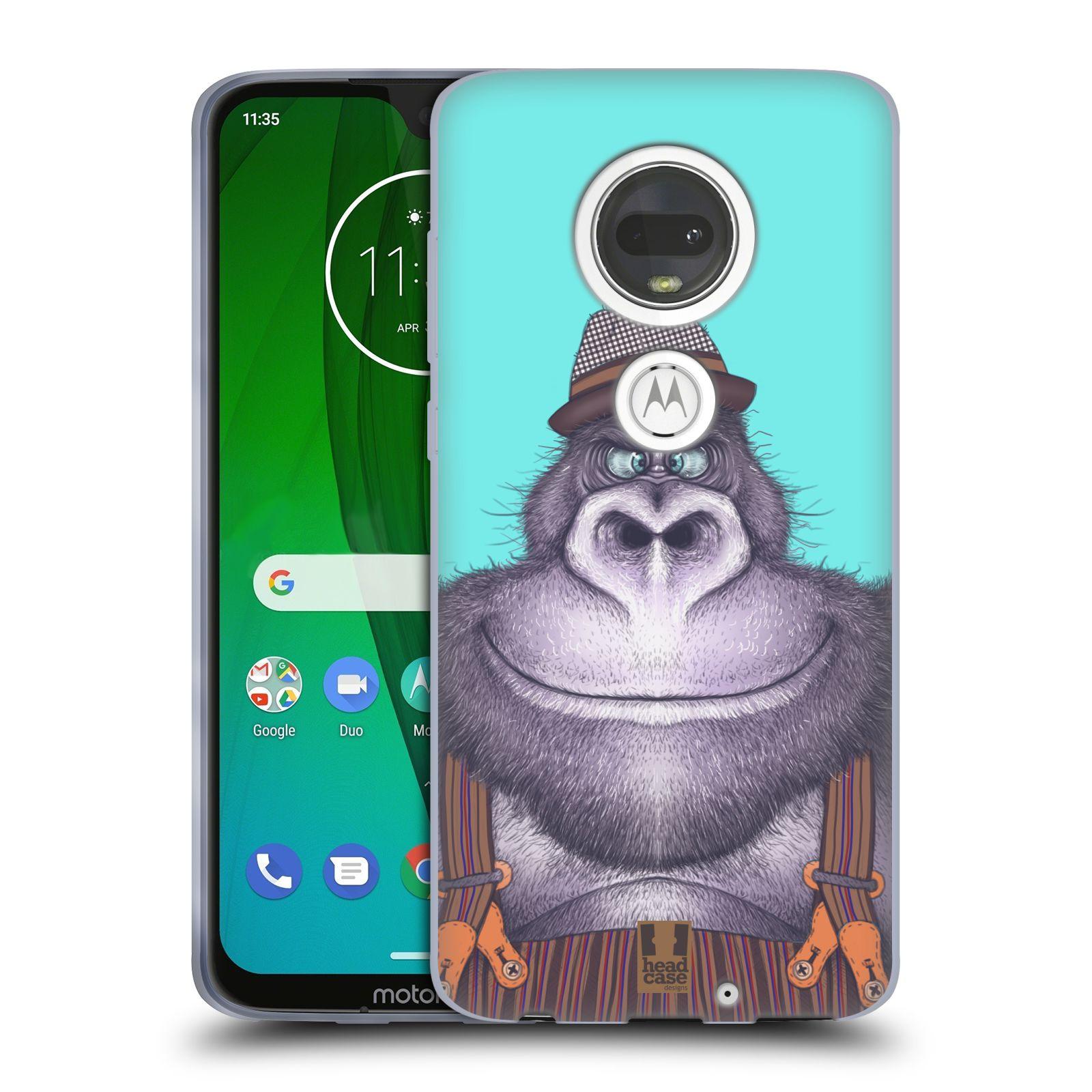 Silikonové pouzdro na mobil Motorola Moto G7 - Head Case - ANIMPLA GORILÁK