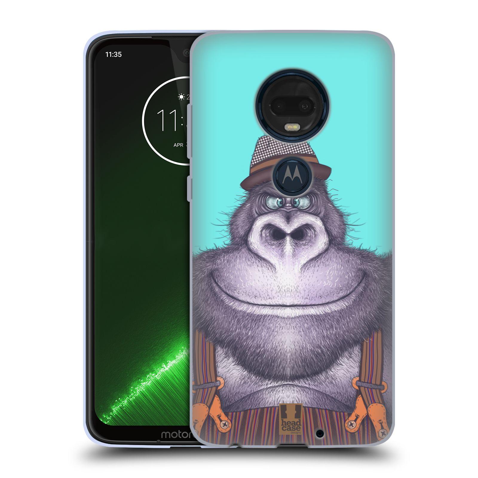 Silikonové pouzdro na mobil Motorola Moto G7 Plus - Head Case - ANIMPLA GORILÁK