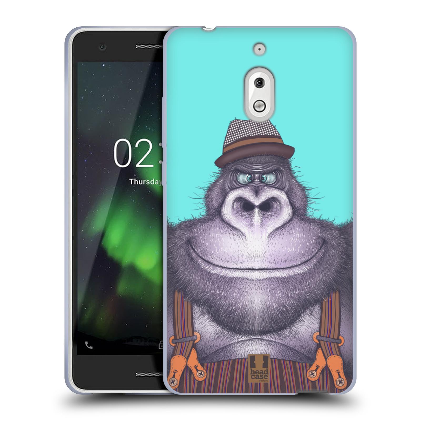 Silikonové pouzdro na mobil Nokia 2.1 - Head Case - ANIMPLA GORILÁK