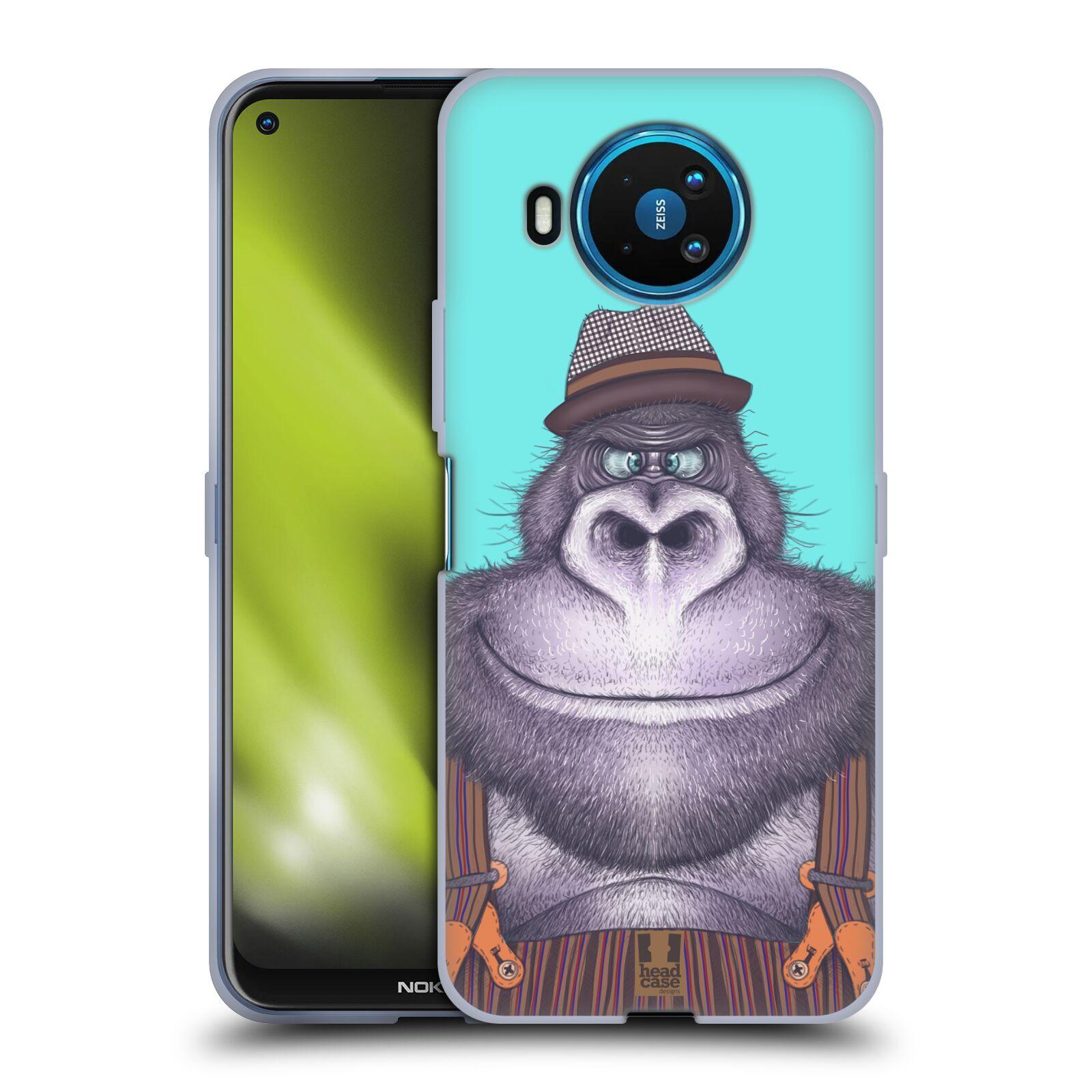 Silikonové pouzdro na mobil Nokia 8.3 5G - Head Case - ANIMPLA GORILÁK