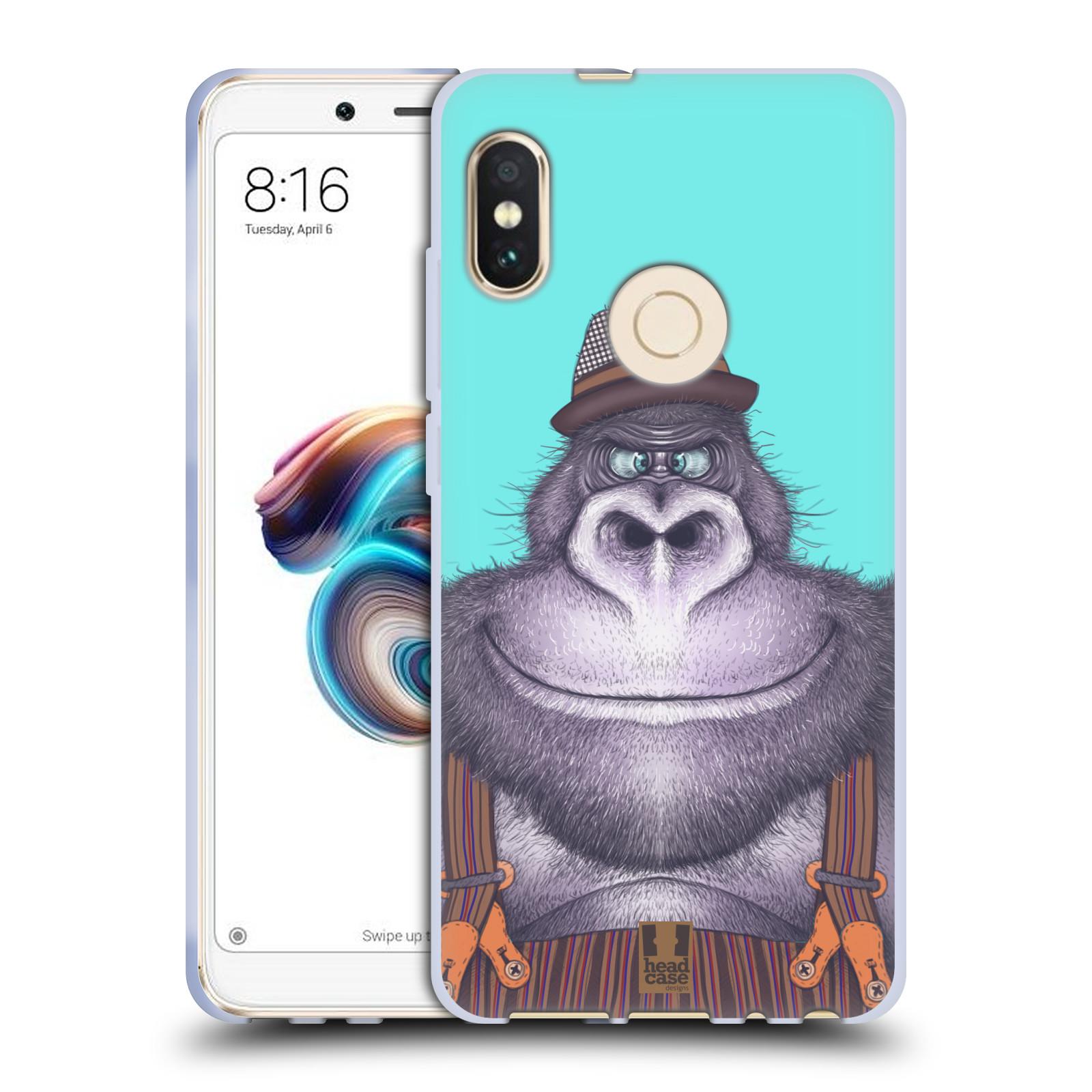 Silikonové pouzdro na mobil Xiaomi Redmi Note 5 - Head Case - ANIMPLA GORILÁK