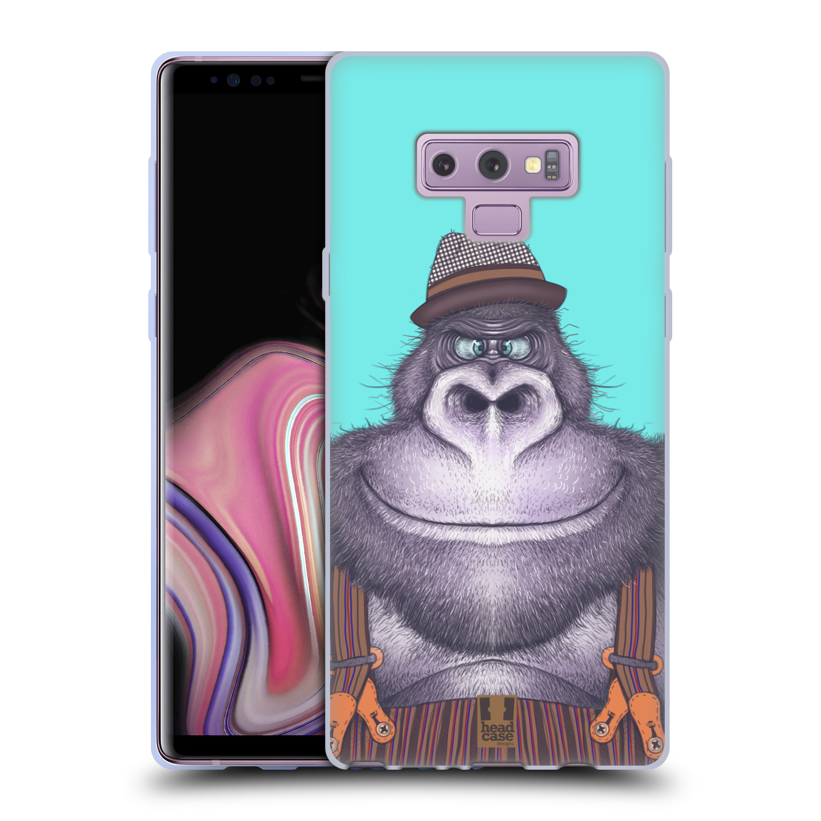 Silikonové pouzdro na mobil Samsung Galaxy Note 9 - Head Case - ANIMPLA GORILÁK