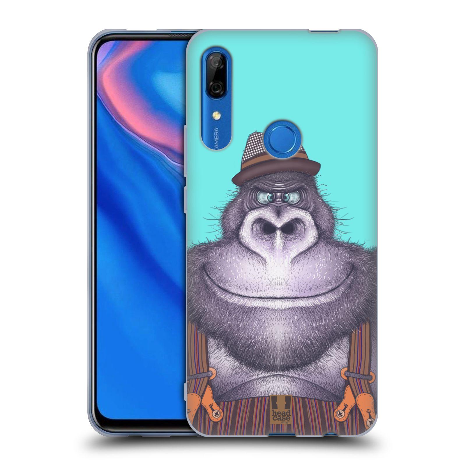 Silikonové pouzdro na mobil Huawei P Smart Z - Head Case - ANIMPLA GORILÁK