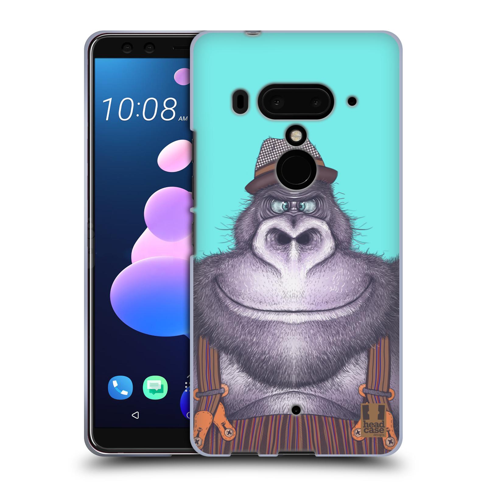 Silikonové pouzdro na mobil HTC U12 Plus - Head Case - ANIMPLA GORILÁK