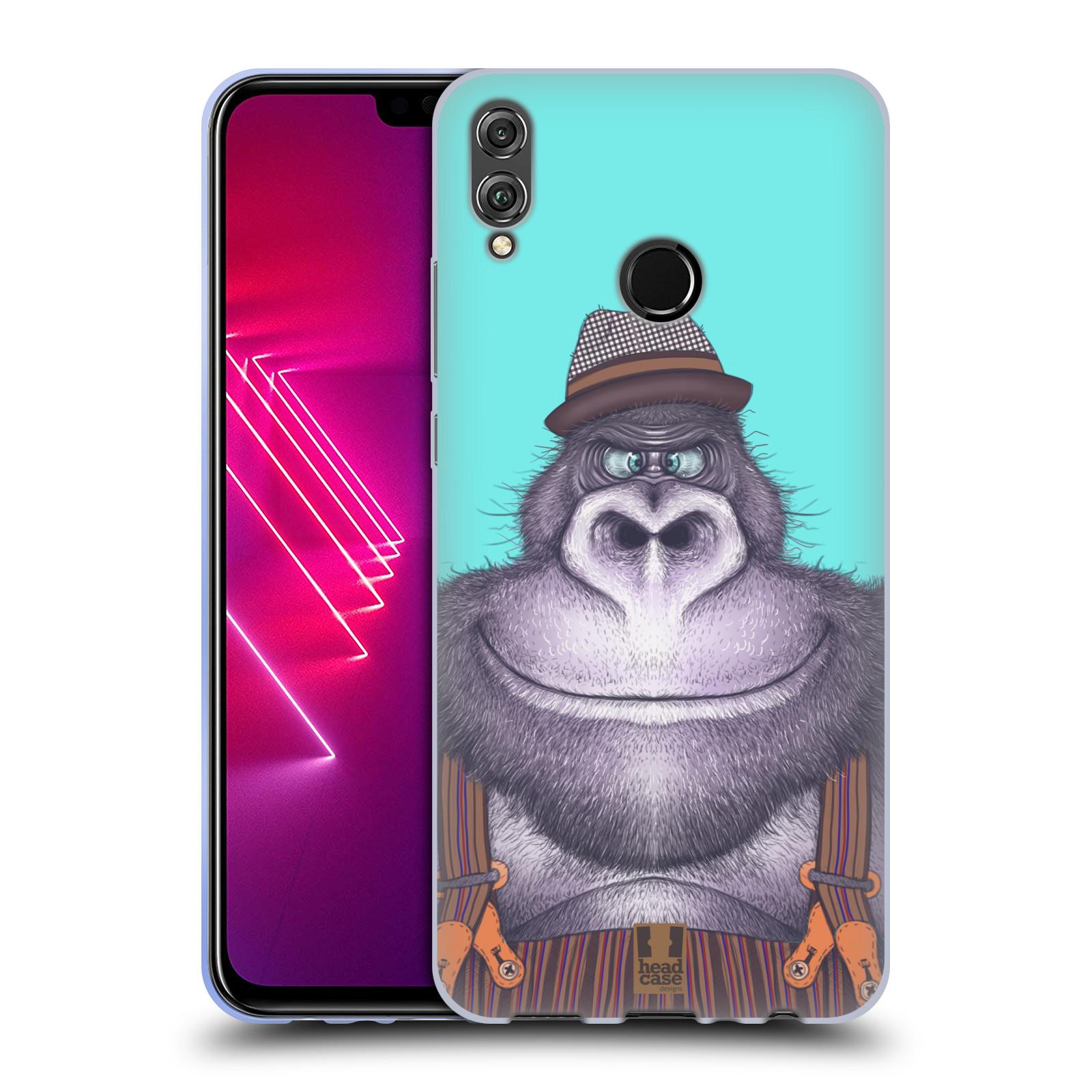 Silikonové pouzdro na mobil Honor View 10 Lite - Head Case - ANIMPLA GORILÁK