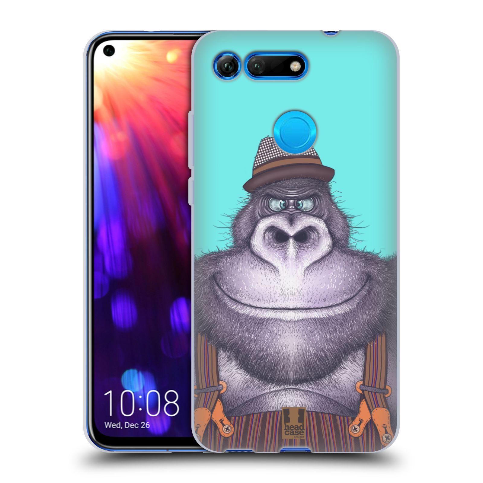 Silikonové pouzdro na mobil Honor View 20 - Head Case - ANIMPLA GORILÁK