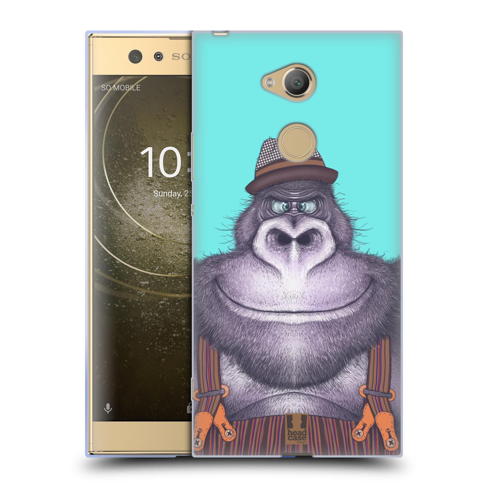 Silikonové pouzdro na mobil Sony Xperia XA2 Ultra - Head Case - ANIMPLA GORILÁK