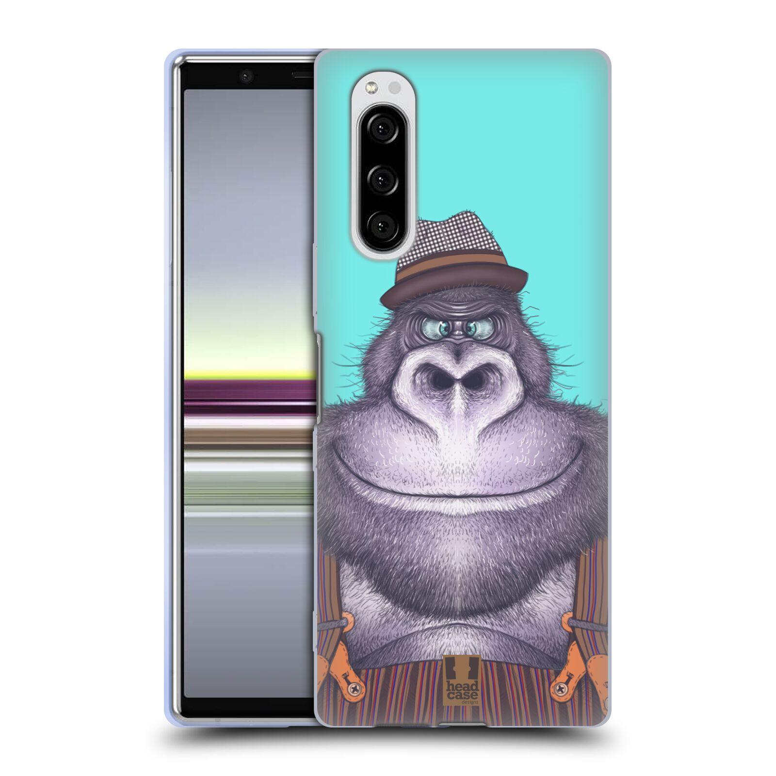 Silikonové pouzdro na mobil Sony Xperia 5 - Head Case - ANIMPLA GORILÁK
