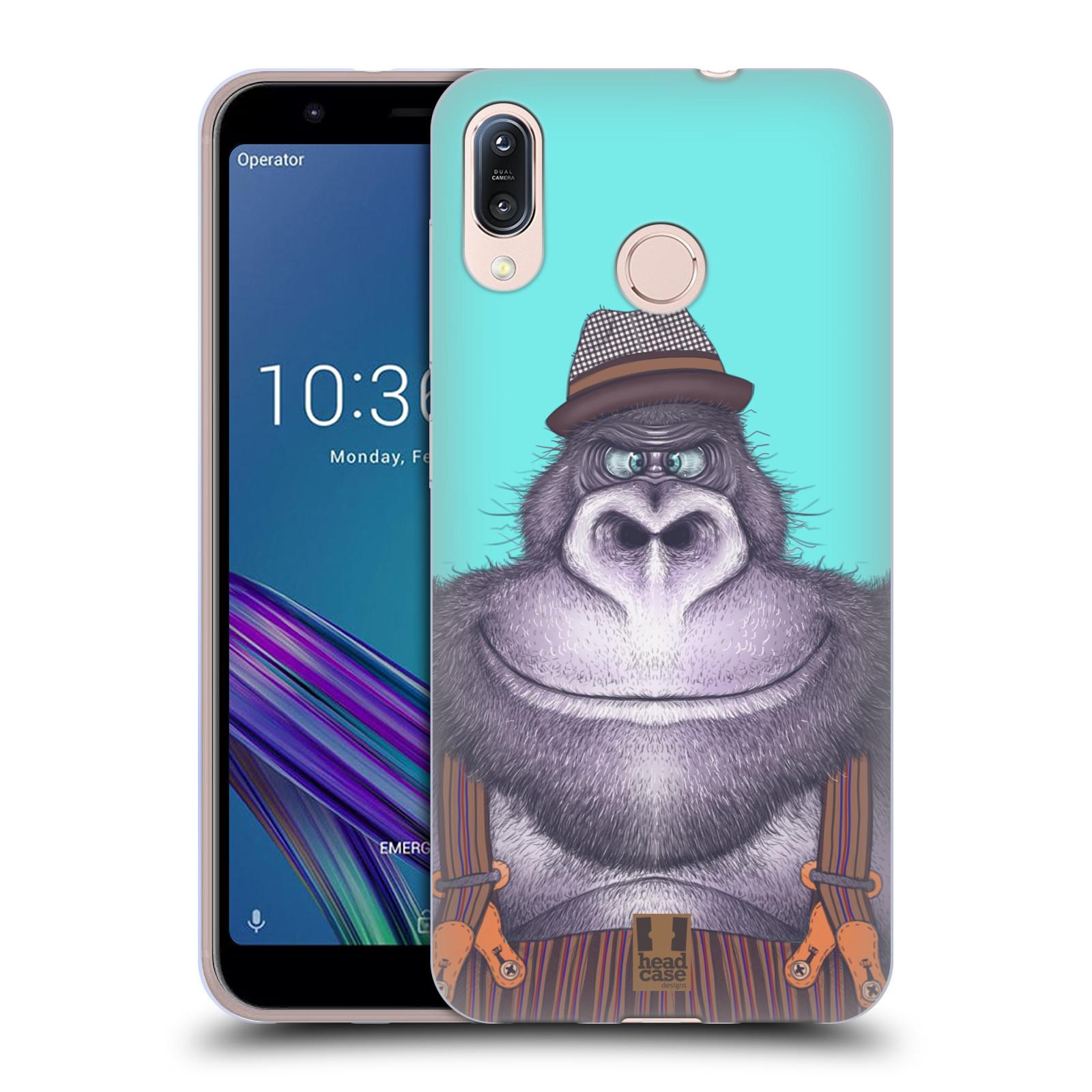 Silikonové pouzdro na mobil Asus Zenfone Max M1 ZB555KL - Head Case - ANIMPLA GORILÁK
