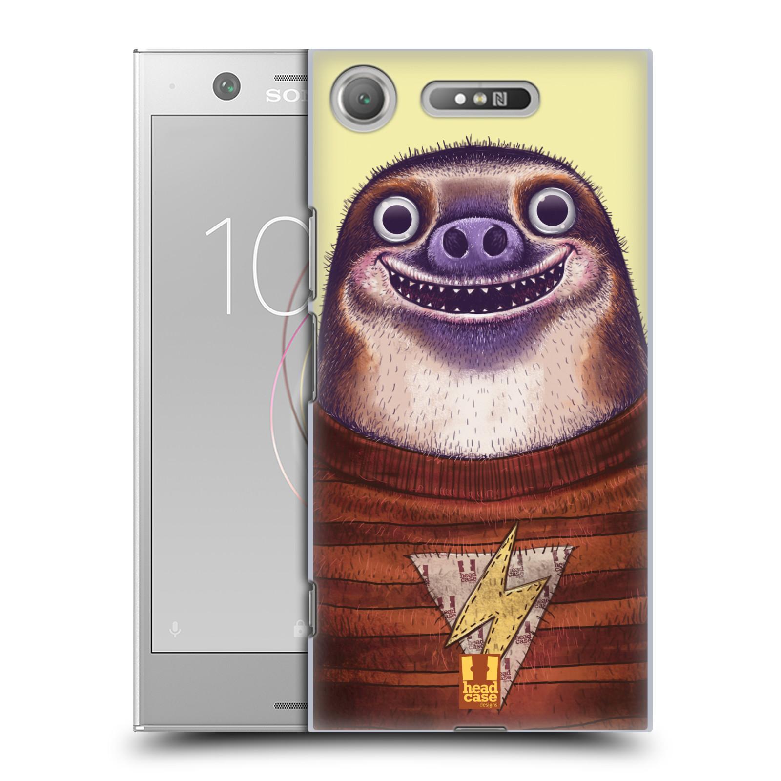 Plastové pouzdro na mobil Sony Xperia XZ1 - Head Case - ANIMPLA LENOCHOD