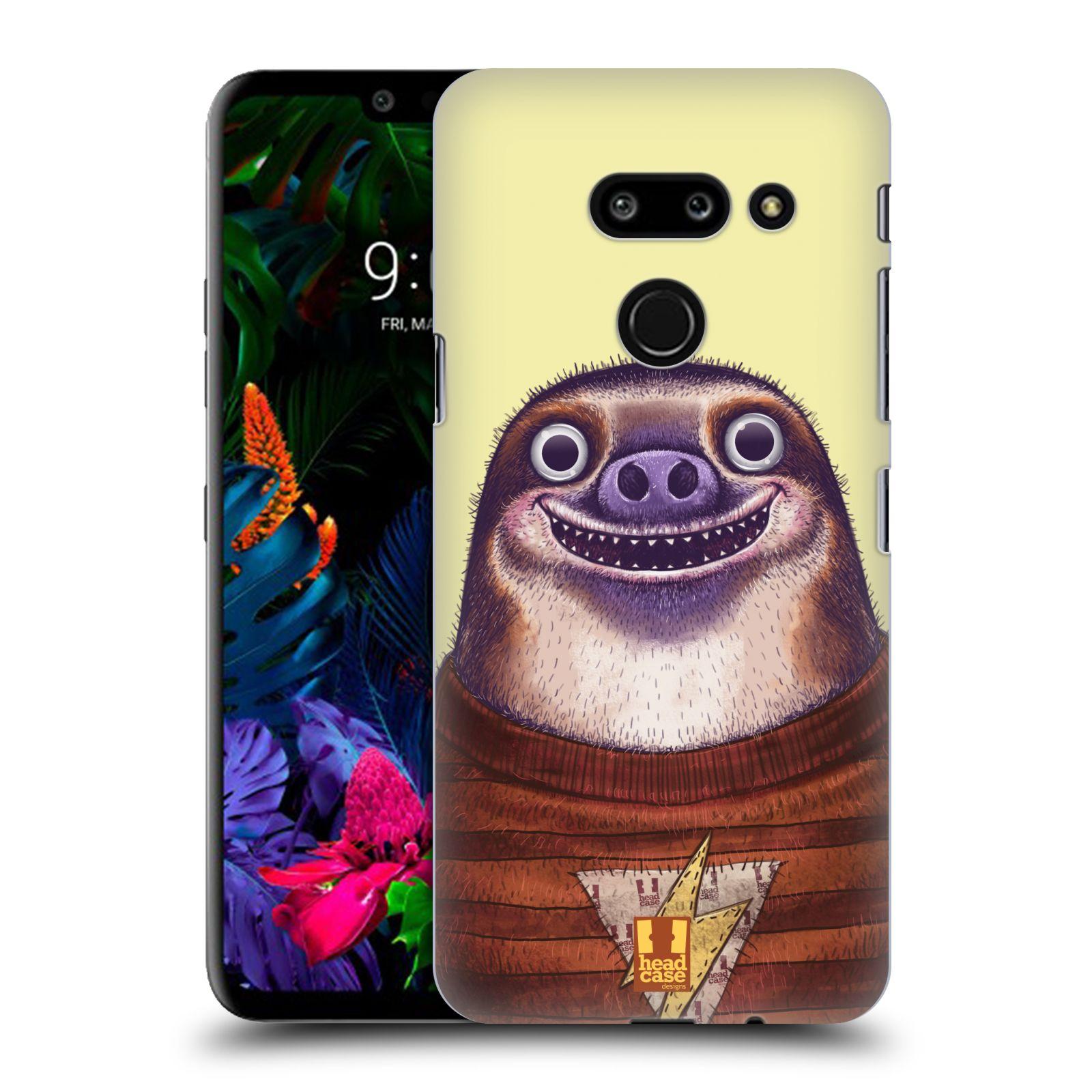 Plastové pouzdro na mobil LG G8 ThinQ - Head Case - ANIMPLA LENOCHOD