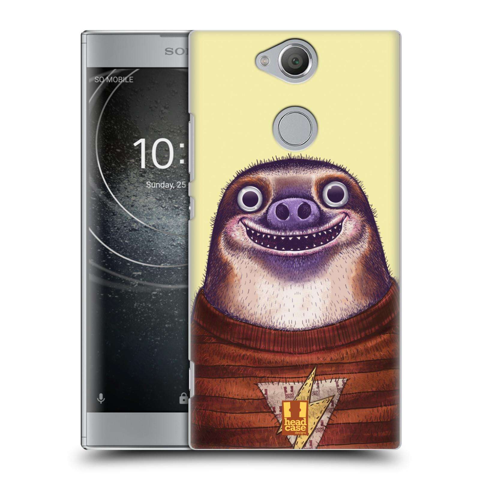 Plastové pouzdro na mobil Sony Xperia XA2 - Head Case - ANIMPLA LENOCHOD