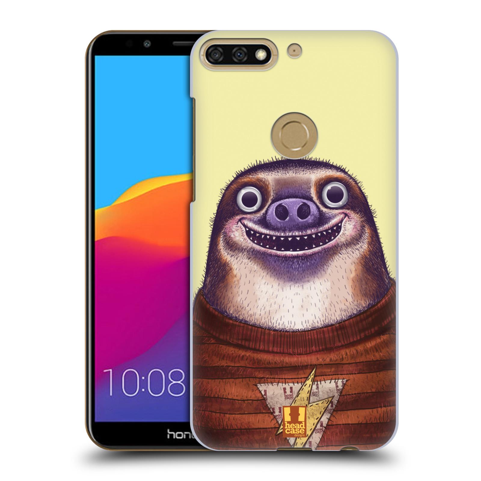 Plastové pouzdro na mobil Huawei Y7 Prime 2018 - Head Case - ANIMPLA LENOCHOD