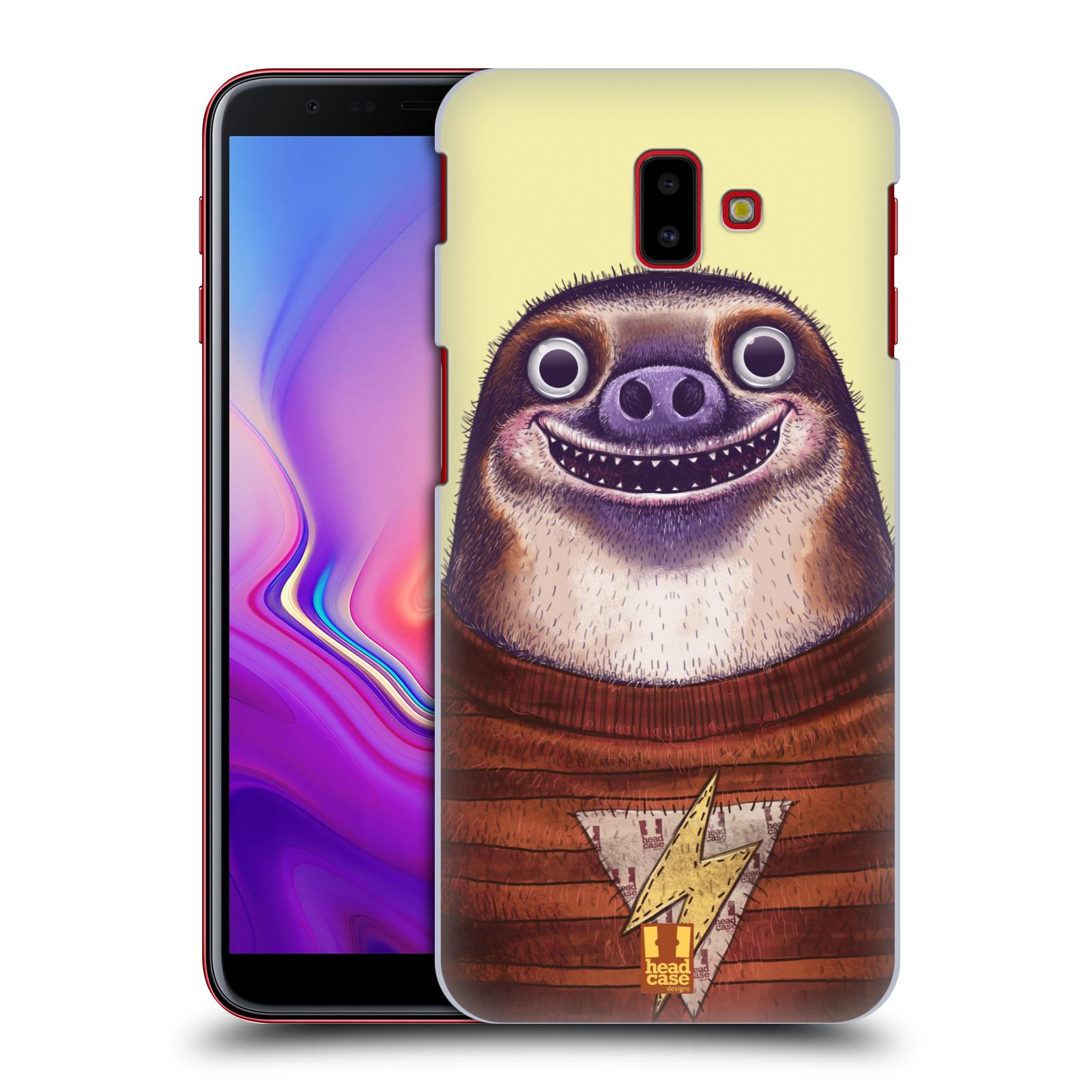 Plastové pouzdro na mobil Samsung Galaxy J6 Plus - Head Case - ANIMPLA LENOCHOD