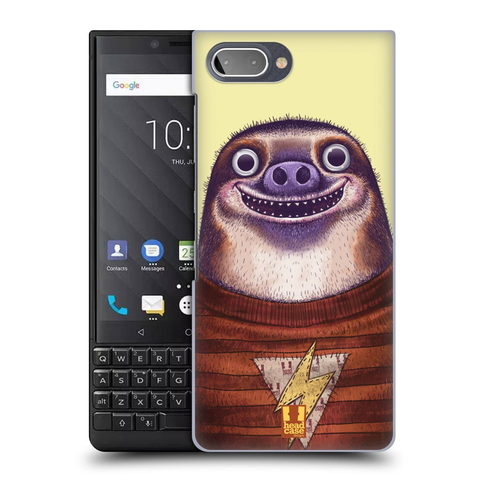 Plastové pouzdro na mobil Blackberry Key 2 - Head Case - ANIMPLA LENOCHOD