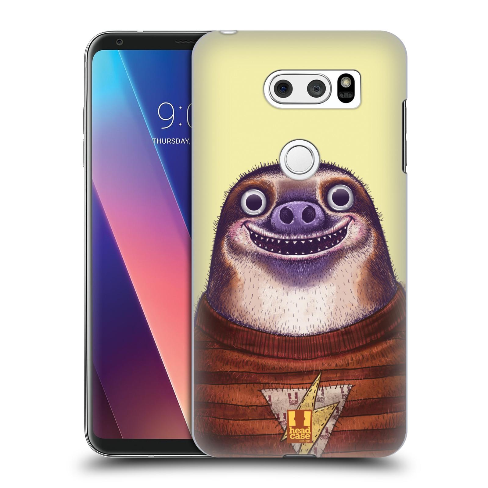 Plastové pouzdro na mobil LG V30 - Head Case - ANIMPLA LENOCHOD