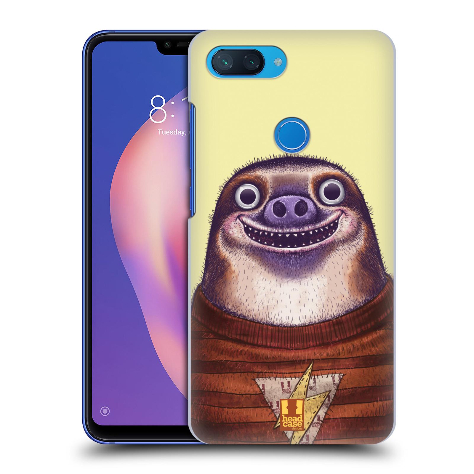 Plastové pouzdro na mobil Xiaomi Mi 8 Lite - Head Case - ANIMPLA LENOCHOD