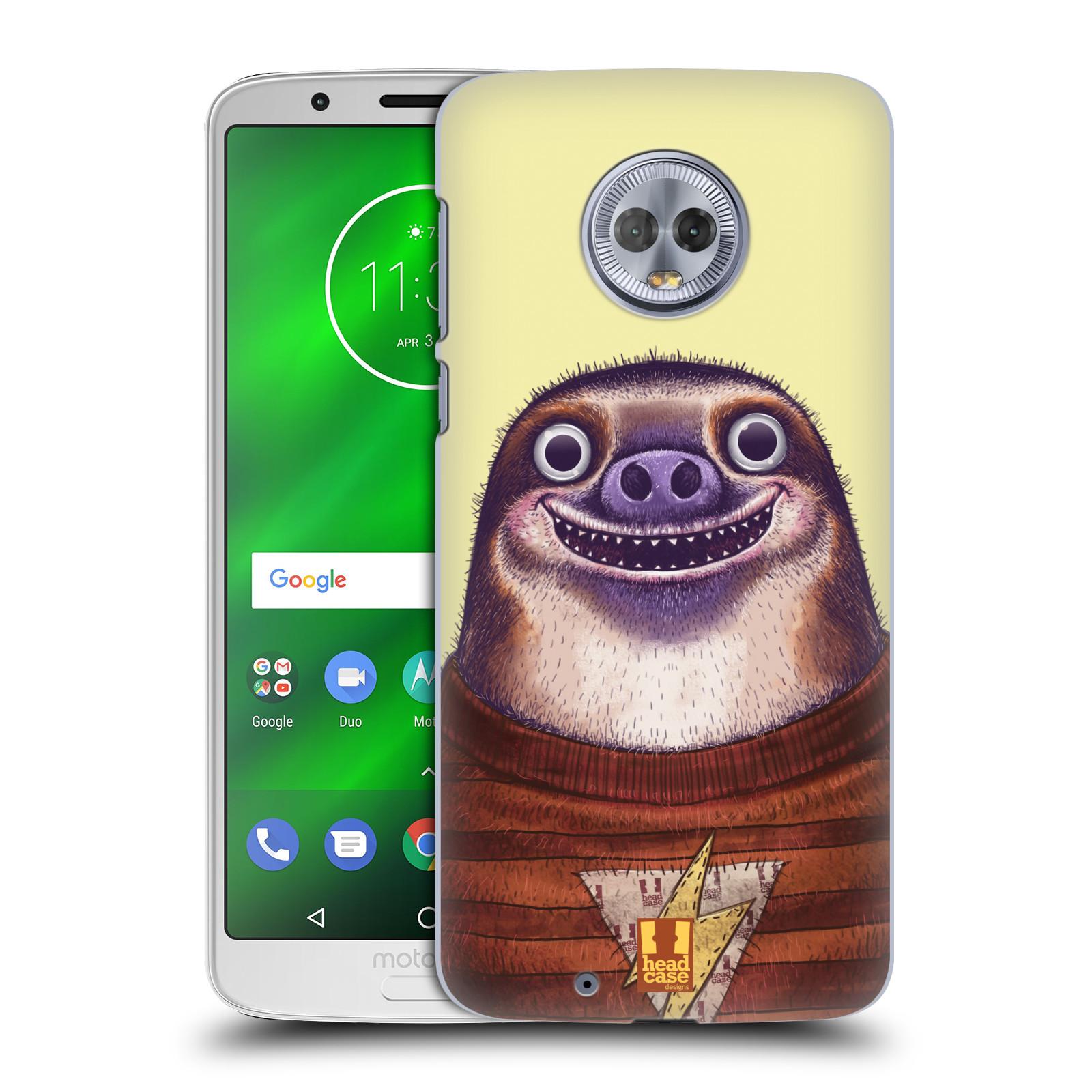 Plastové pouzdro na mobil Motorola Moto G6 - Head Case - ANIMPLA LENOCHOD