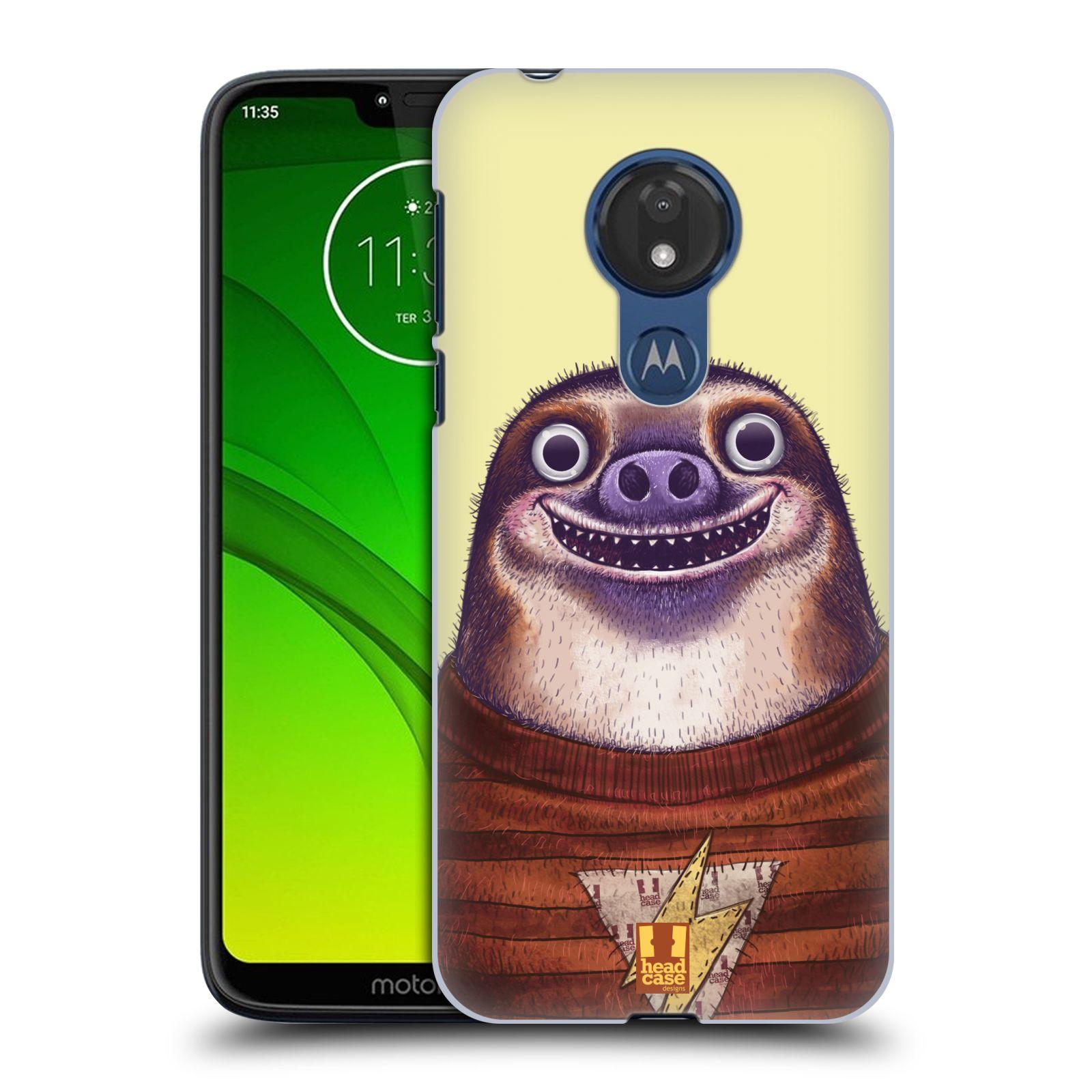 Plastové pouzdro na mobil Motorola Moto G7 Power - Head Case - ANIMPLA LENOCHOD