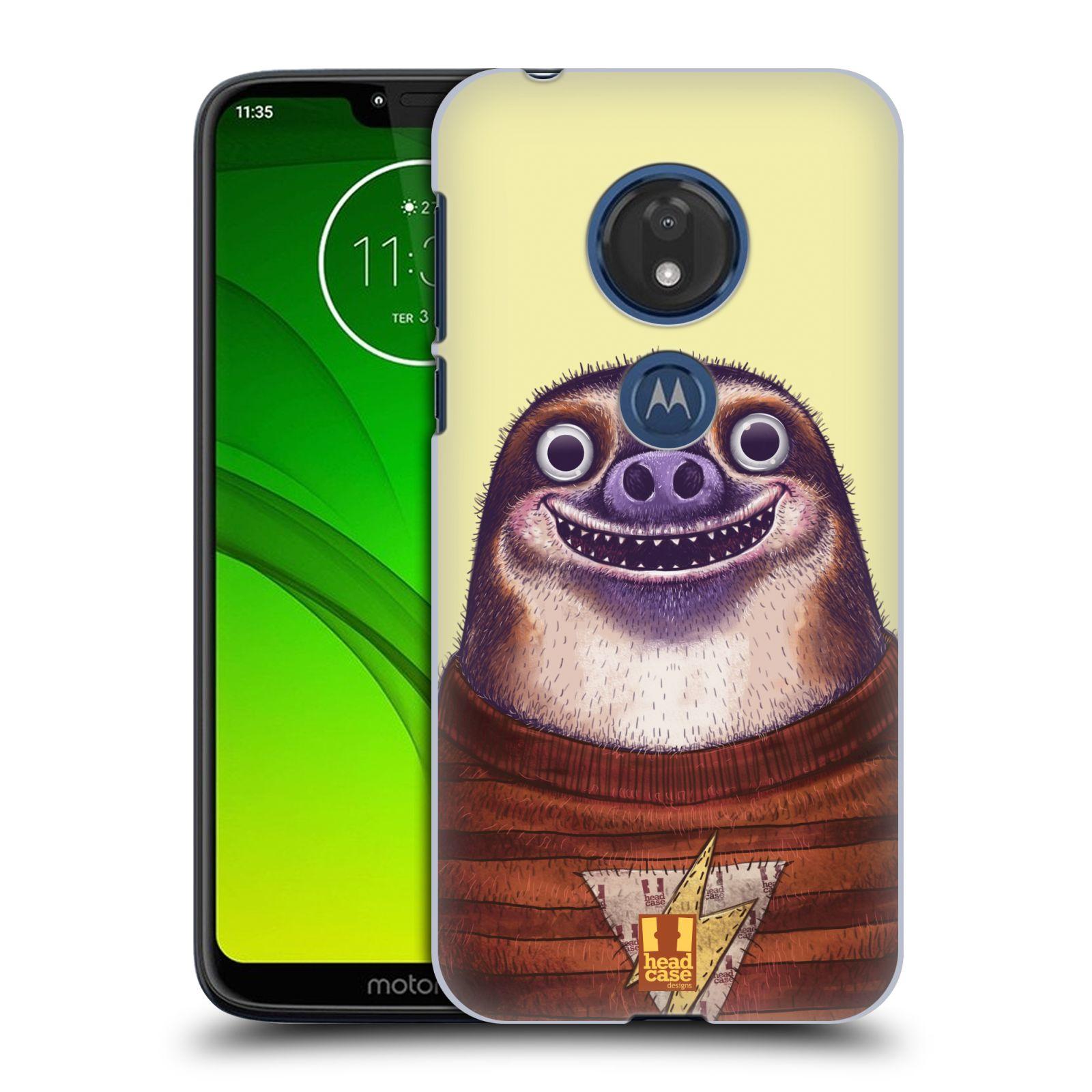 Plastové pouzdro na mobil Motorola Moto G7 Play - Head Case - ANIMPLA LENOCHOD