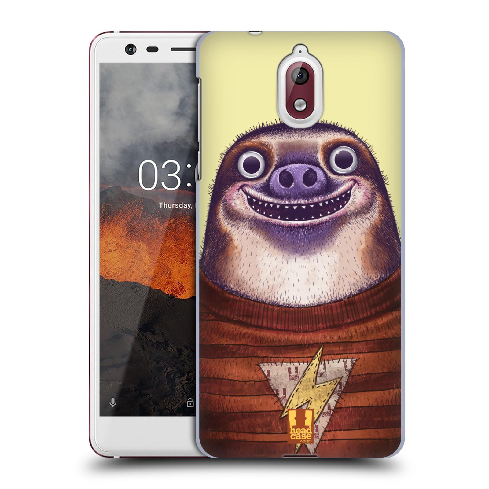 Plastové pouzdro na mobil Nokia 3.1 - Head Case - ANIMPLA LENOCHOD