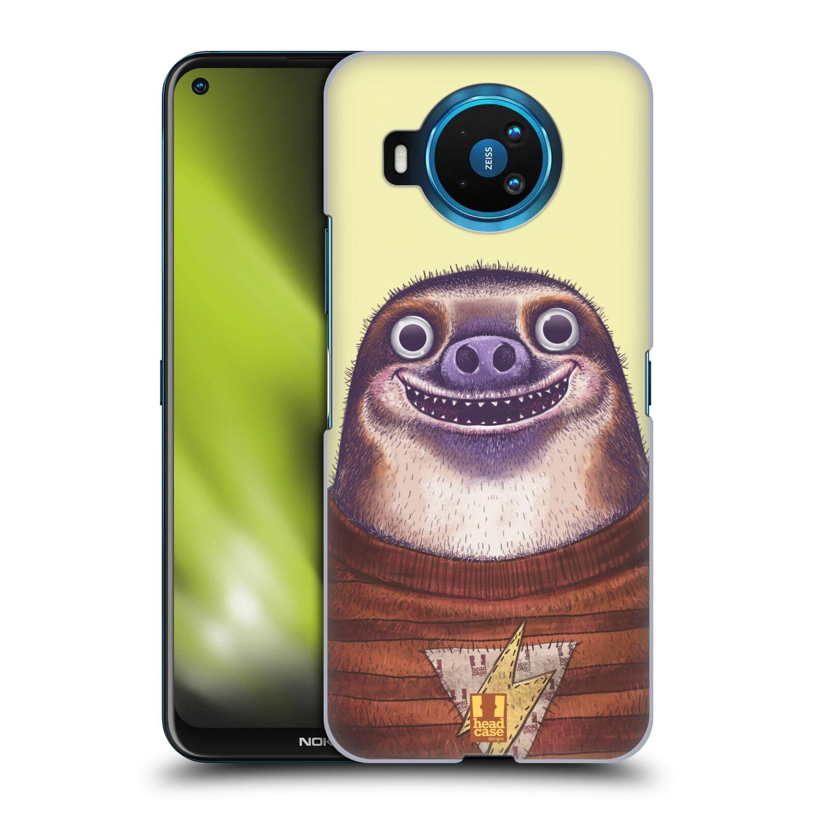 Plastové pouzdro na mobil Nokia 8.3 5G - Head Case - ANIMPLA LENOCHOD