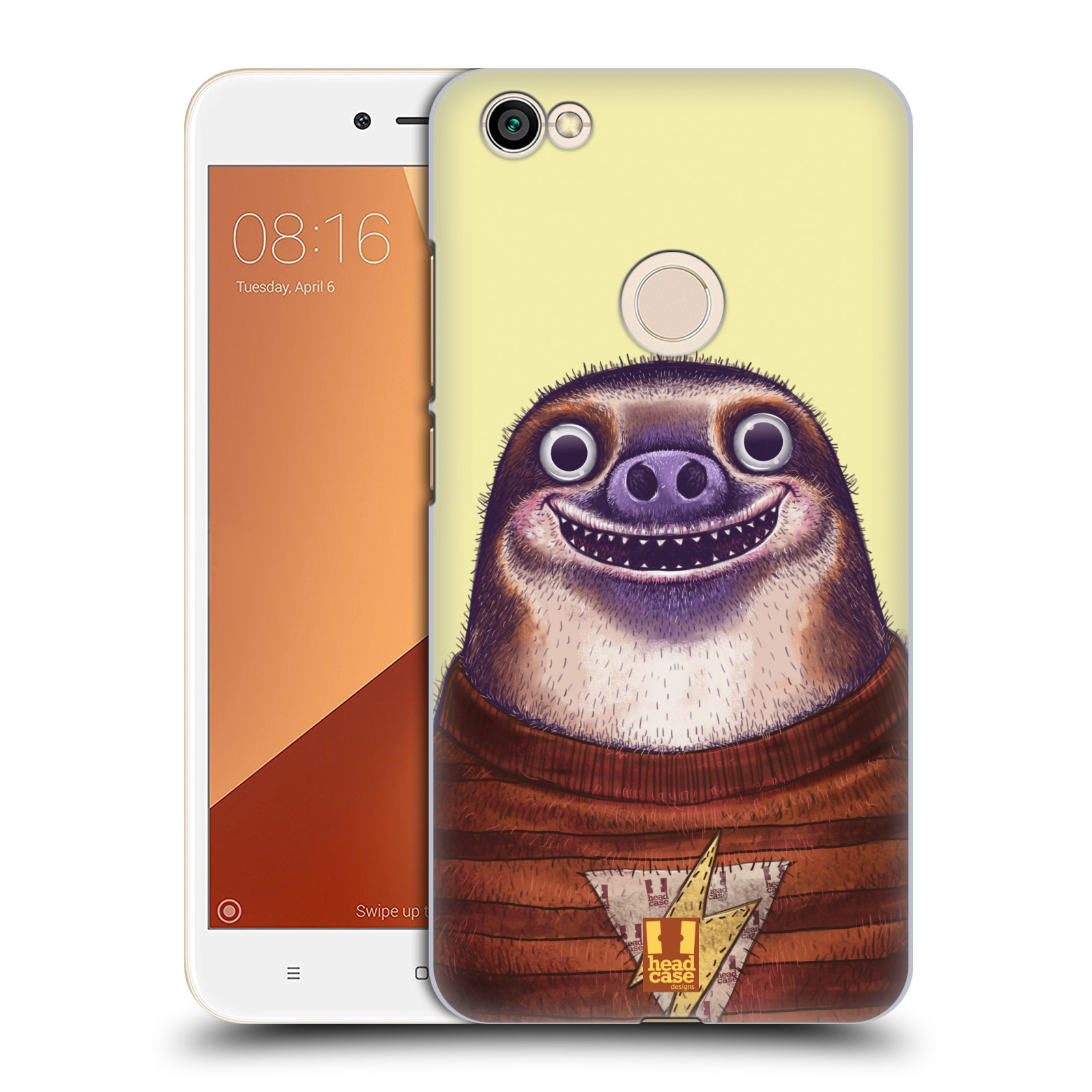 Plastové pouzdro na mobil Xiaomi Redmi Note 5A Prime - Head Case - ANIMPLA LENOCHOD