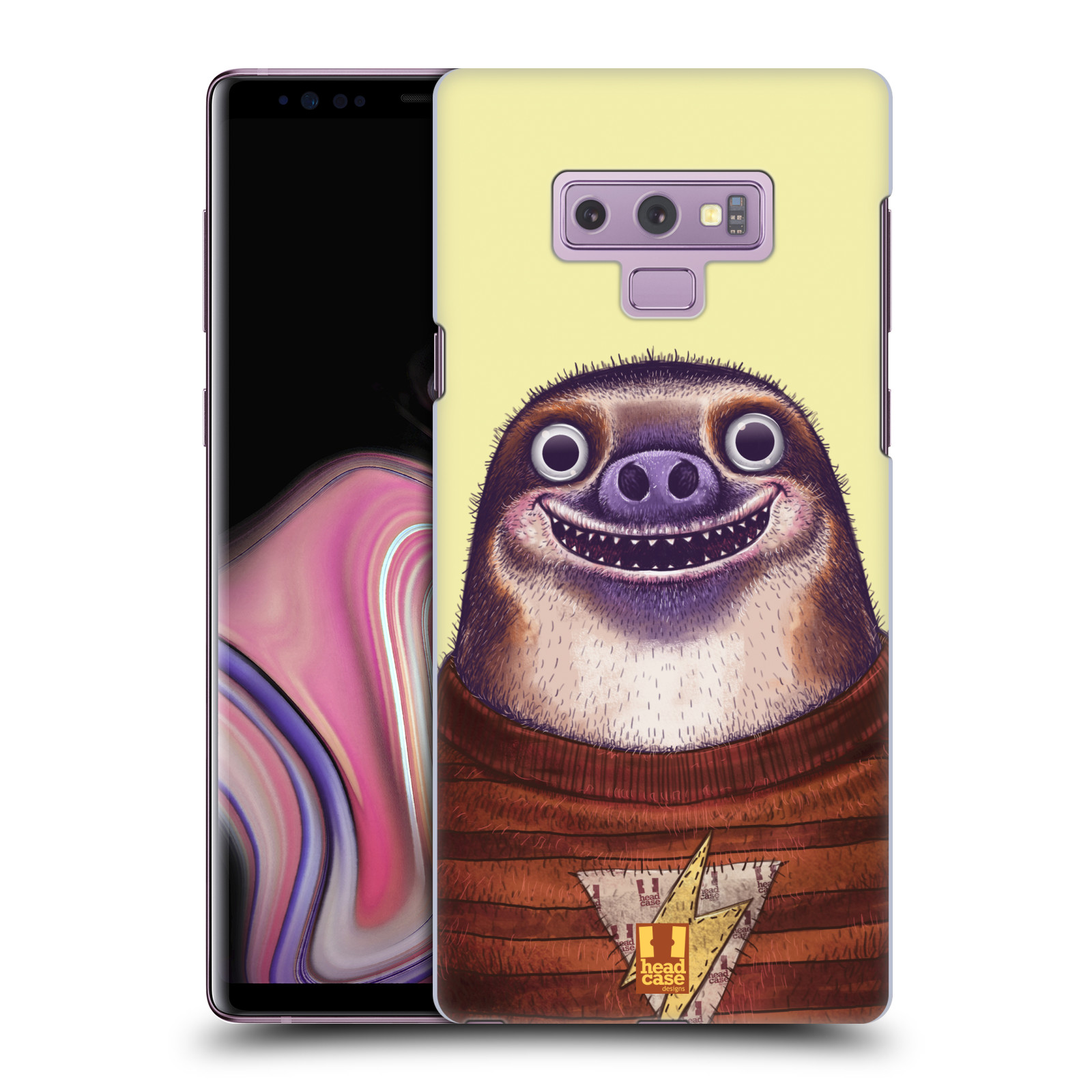 Plastové pouzdro na mobil Samsung Galaxy Note 9 - Head Case - ANIMPLA LENOCHOD