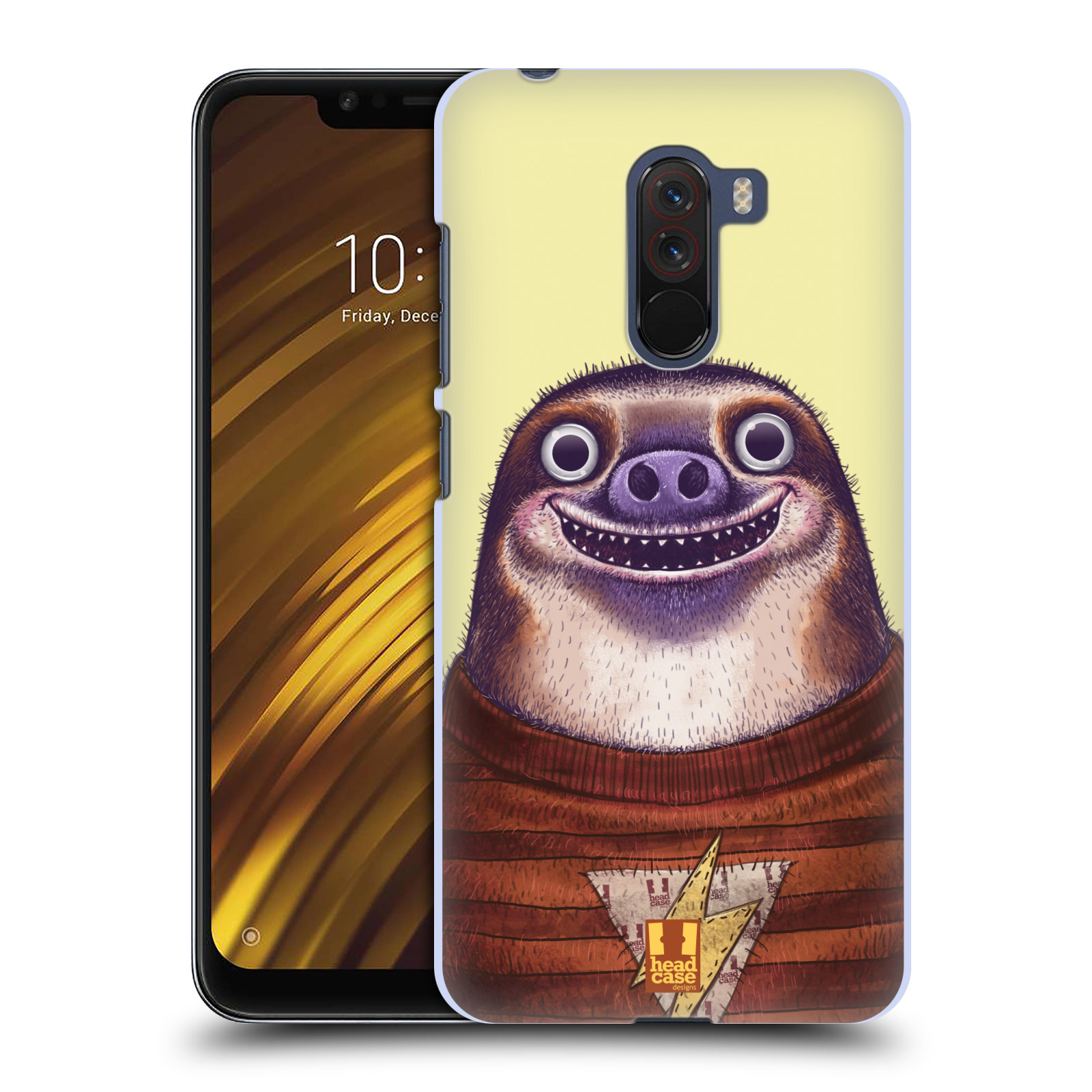 Plastové pouzdro na mobil Xiaomi Pocophone F1 - Head Case - ANIMPLA LENOCHOD