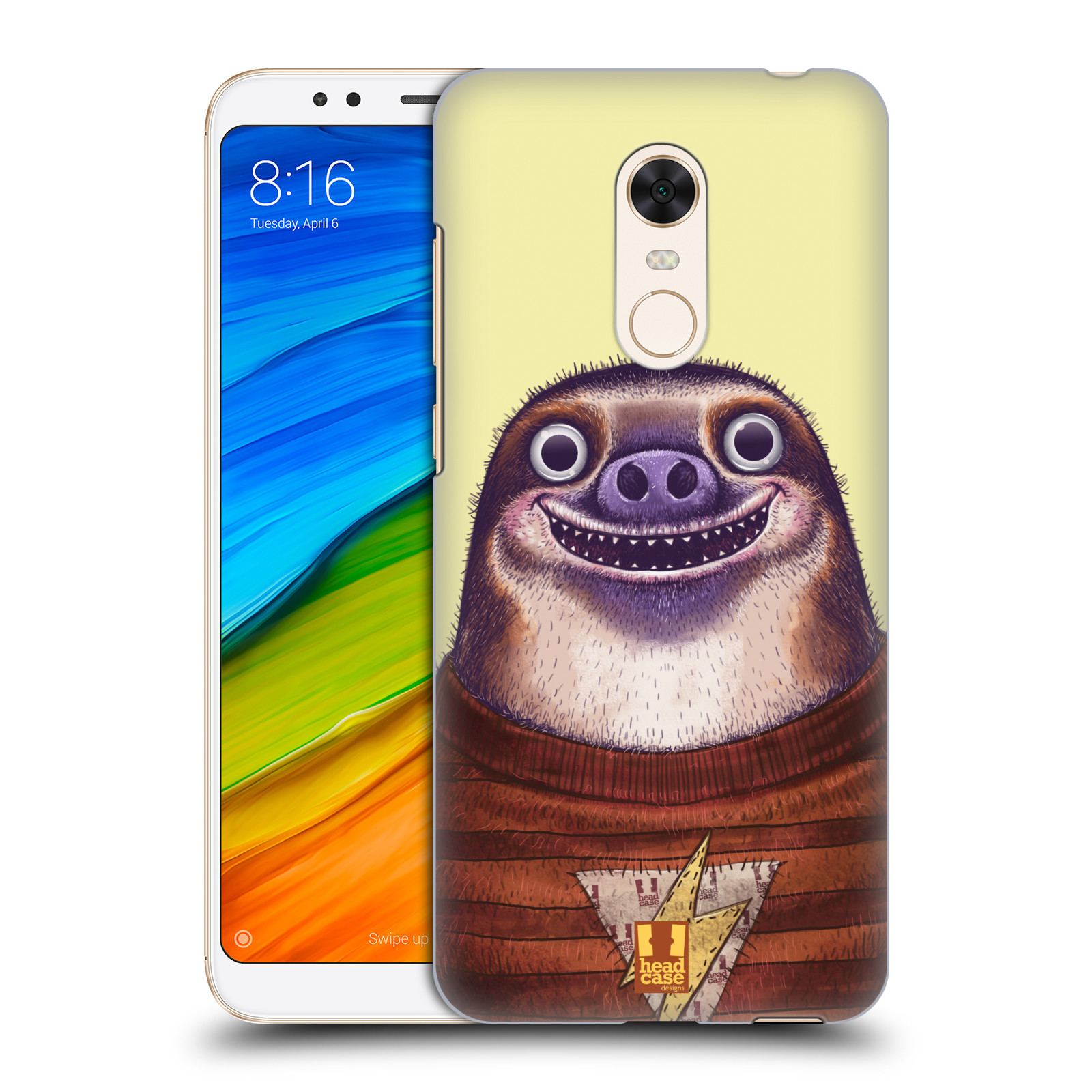 Plastové pouzdro na mobil Xiaomi Redmi 5 Plus - Head Case - ANIMPLA LENOCHOD