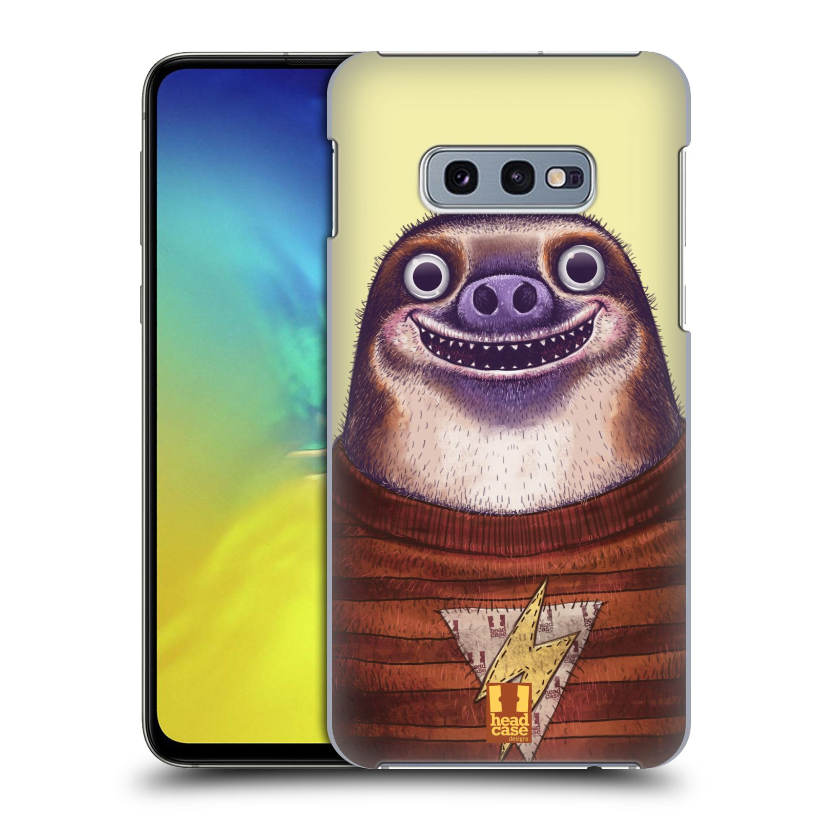 Plastové pouzdro na mobil Samsung Galaxy S10e - Head Case - ANIMPLA LENOCHOD