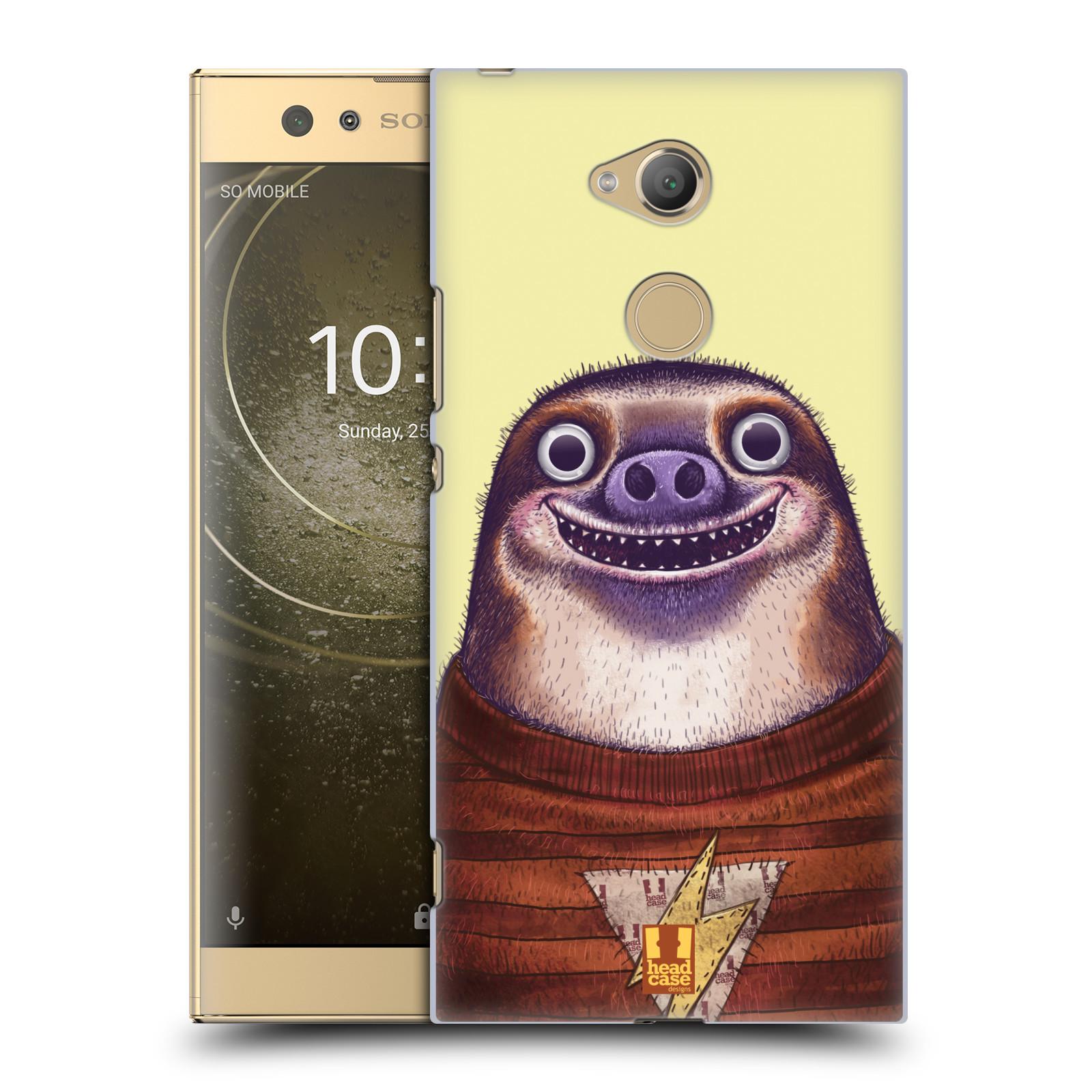 Plastové pouzdro na mobil Sony Xperia XA2 Ultra - Head Case - ANIMPLA LENOCHOD