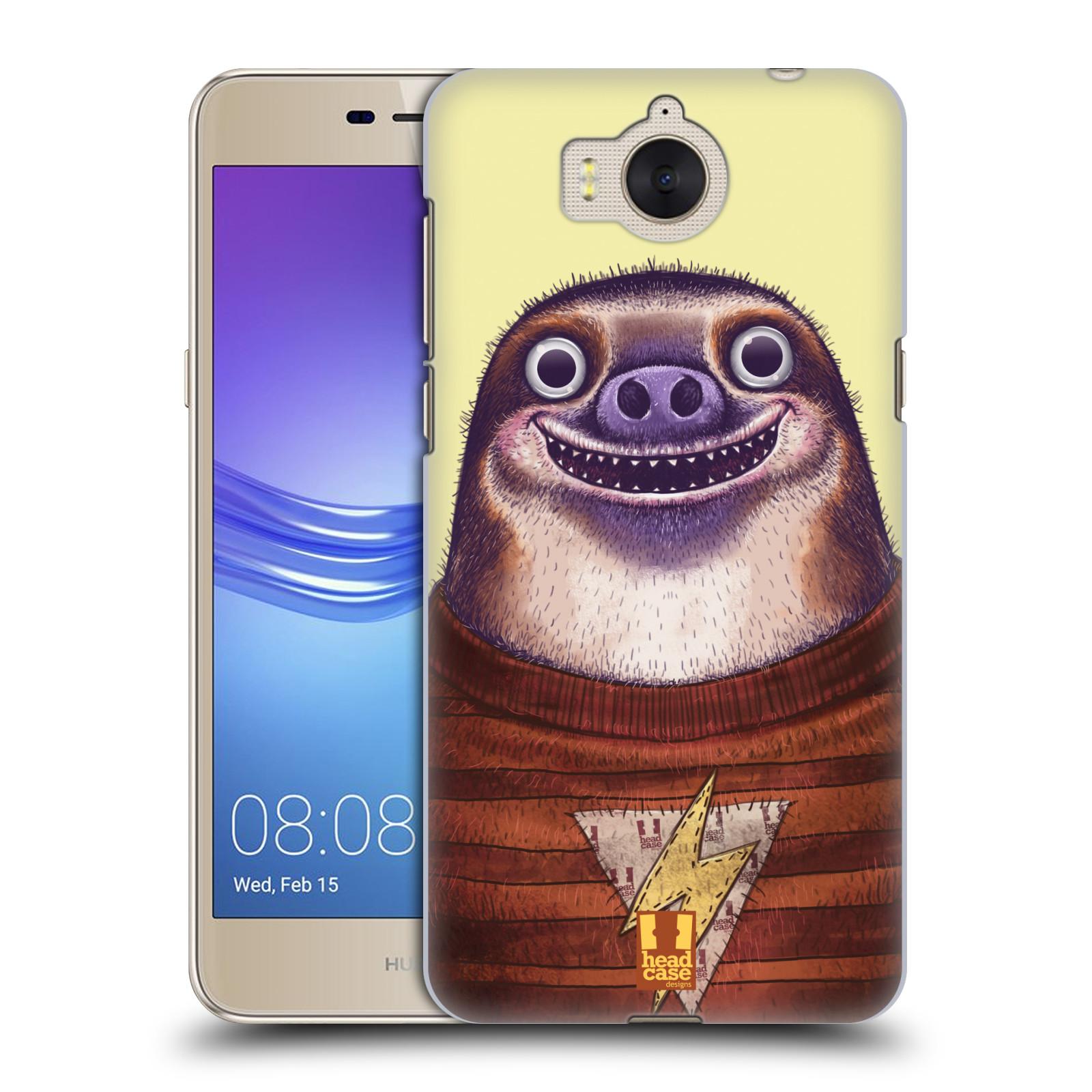 Plastové pouzdro na mobil Huawei Y6 2017 - Head Case - ANIMPLA LENOCHOD
