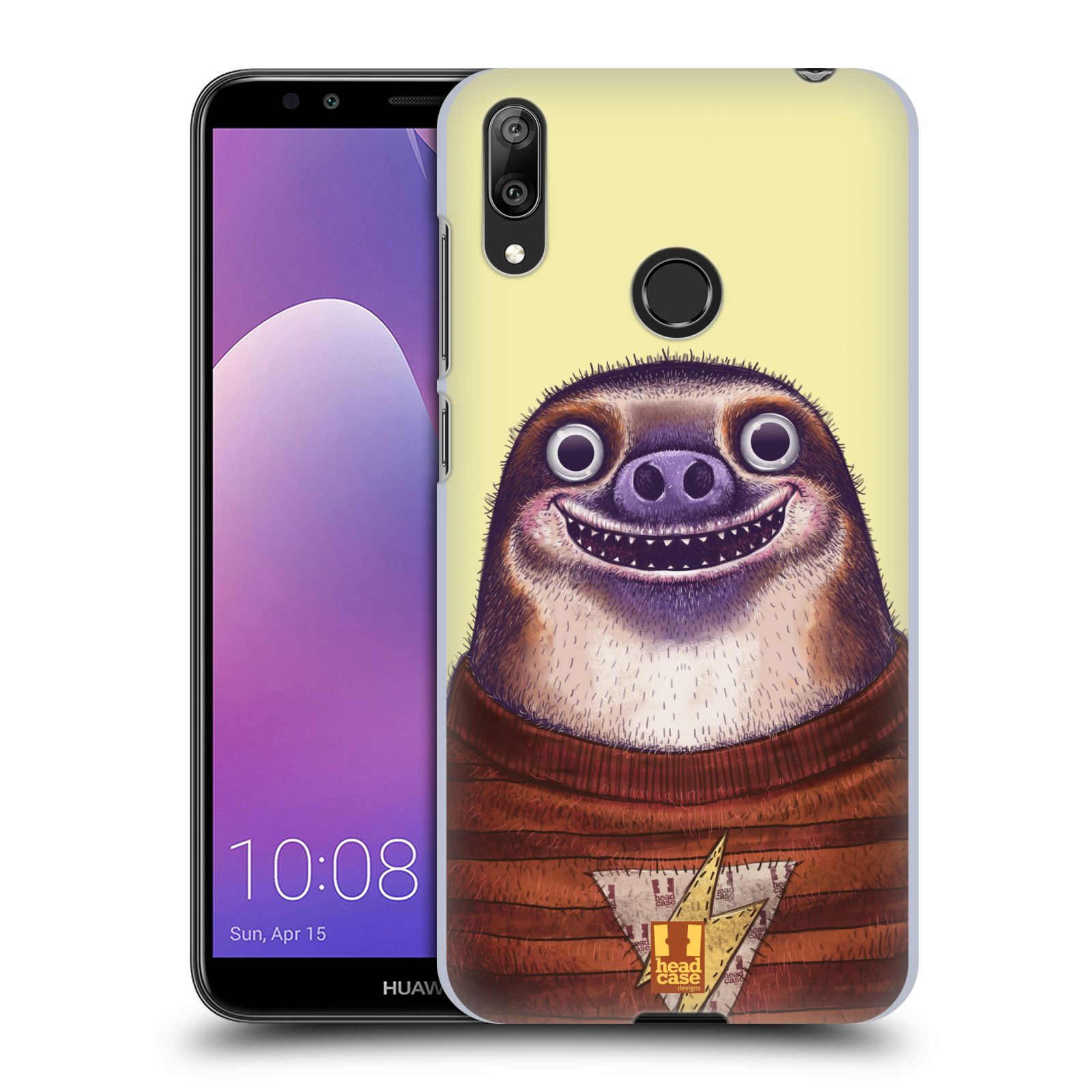 Plastové pouzdro na mobil Huawei Y7 (2019) - Head Case - ANIMPLA LENOCHOD