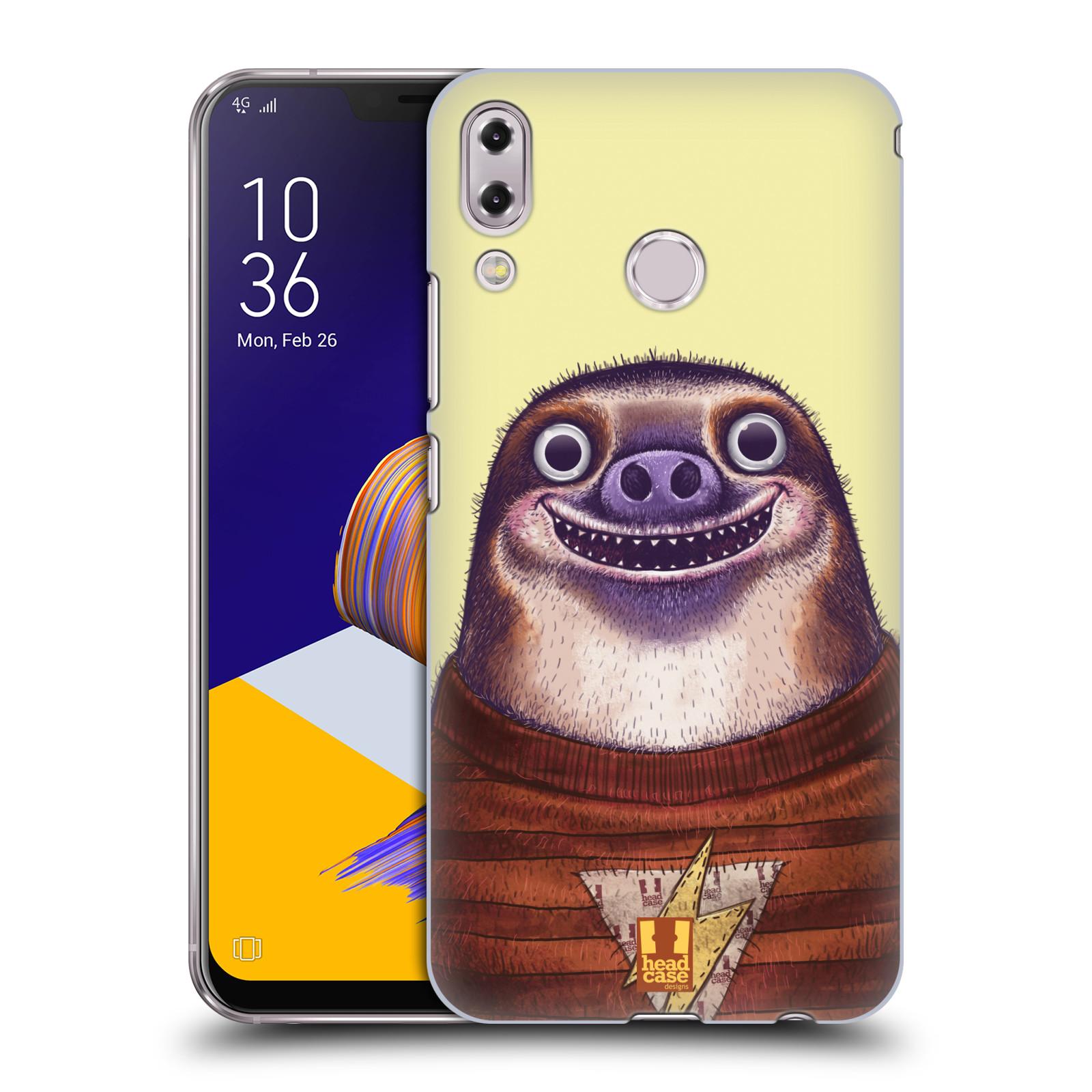 Plastové pouzdro na mobil Asus Zenfone 5z ZS620KL - Head Case - ANIMPLA LENOCHOD