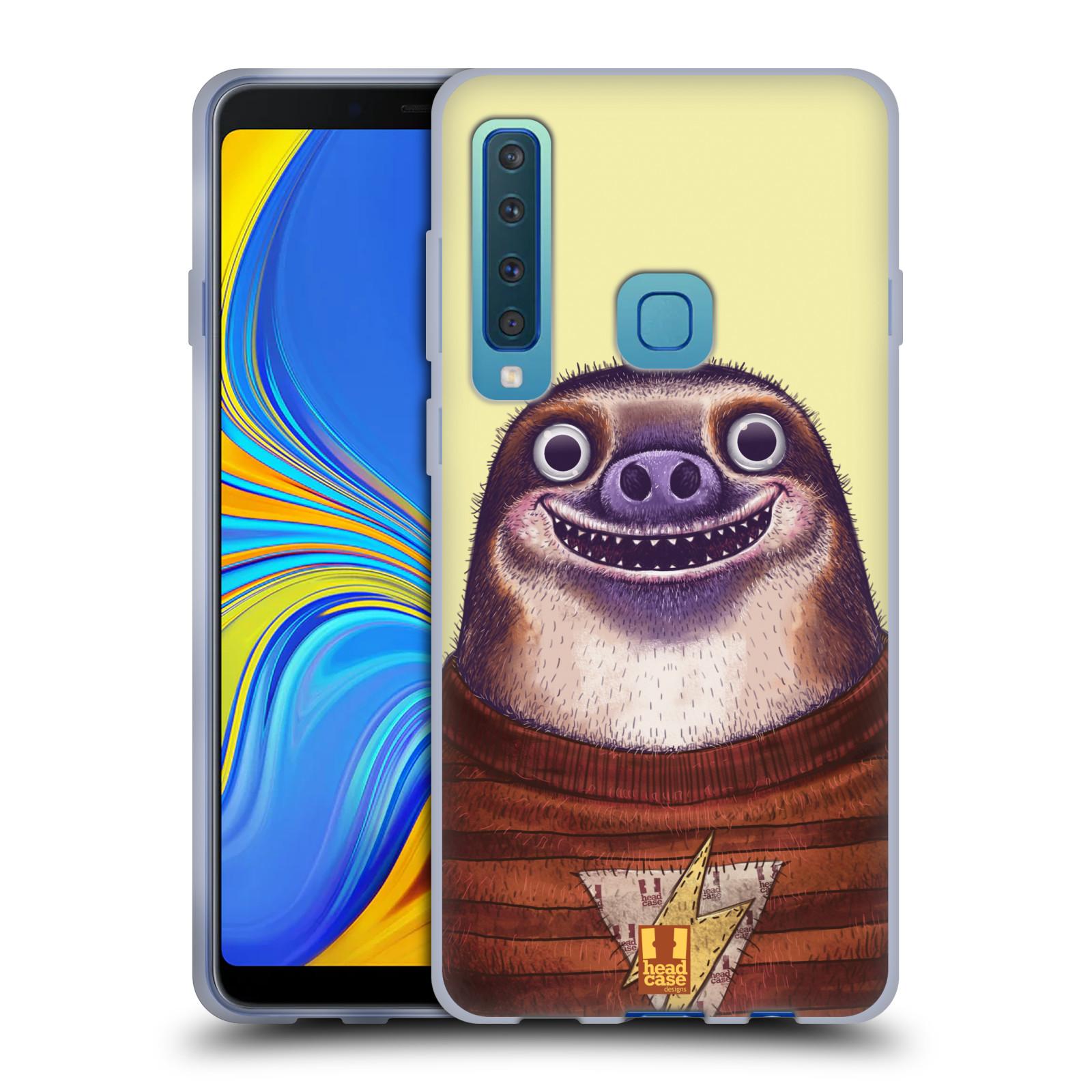 Silikonové pouzdro na mobil Samsung Galaxy A9 (2018) - Head Case - ANIMPLA LENOCHOD